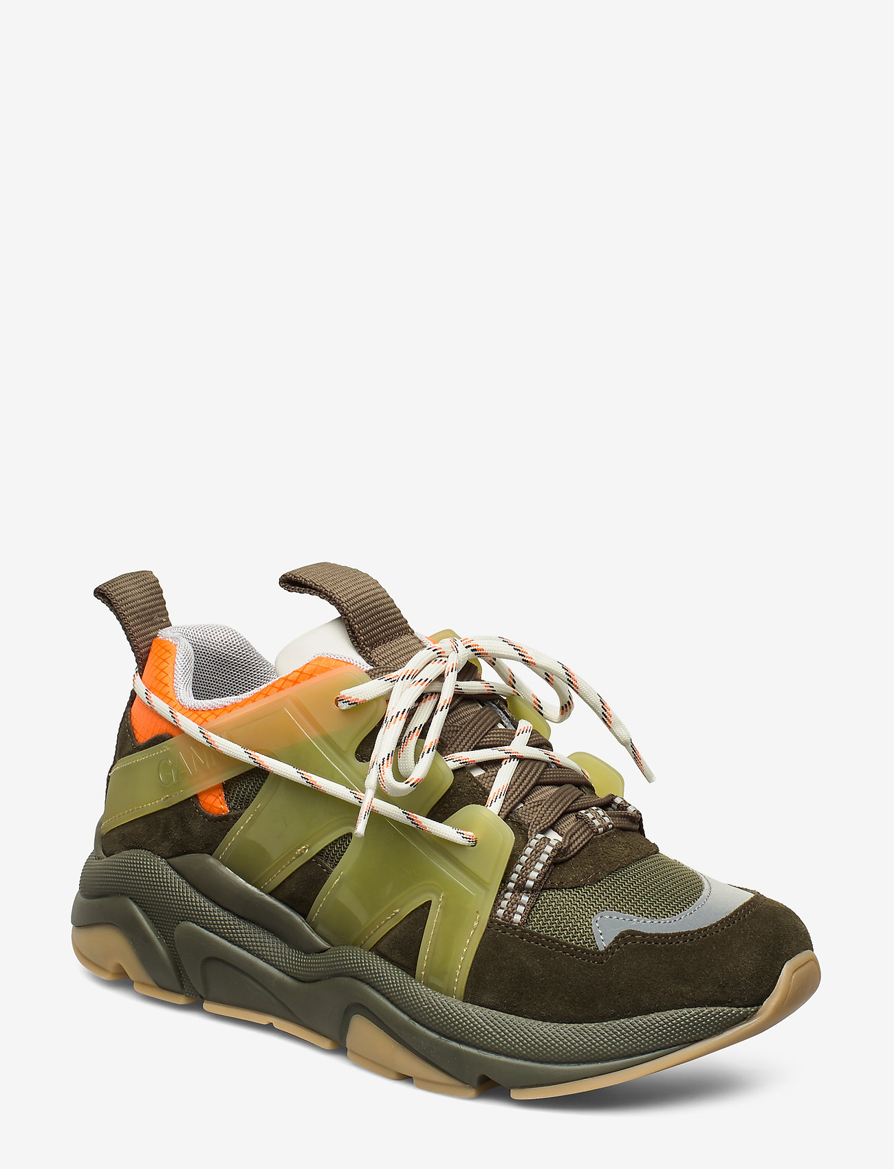 Ganni - Tech Sneakers - chunky sneakers - kalamata - 0
