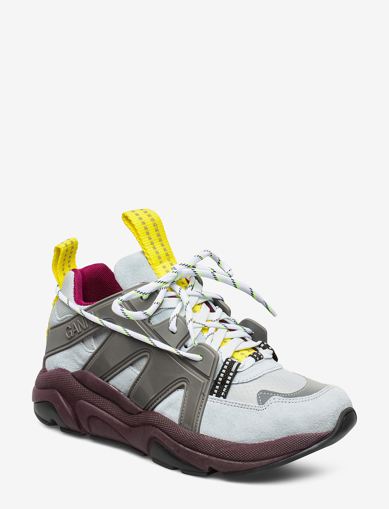 Ganni - Tech Sneakers - chunky sneakers - gray dawn - 0