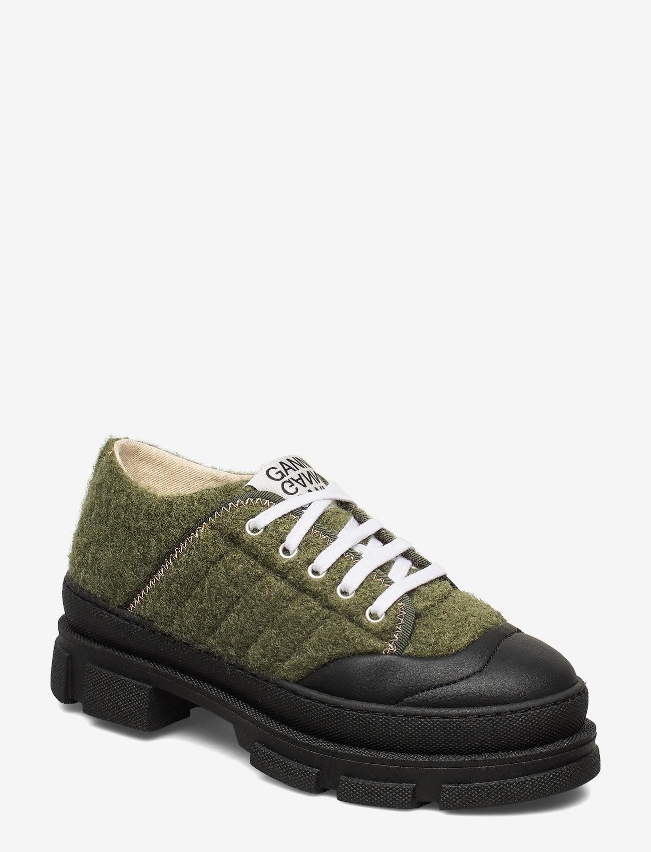 Ganni - Hybrid Sneakers - chunky sneakers - kalamata - 0