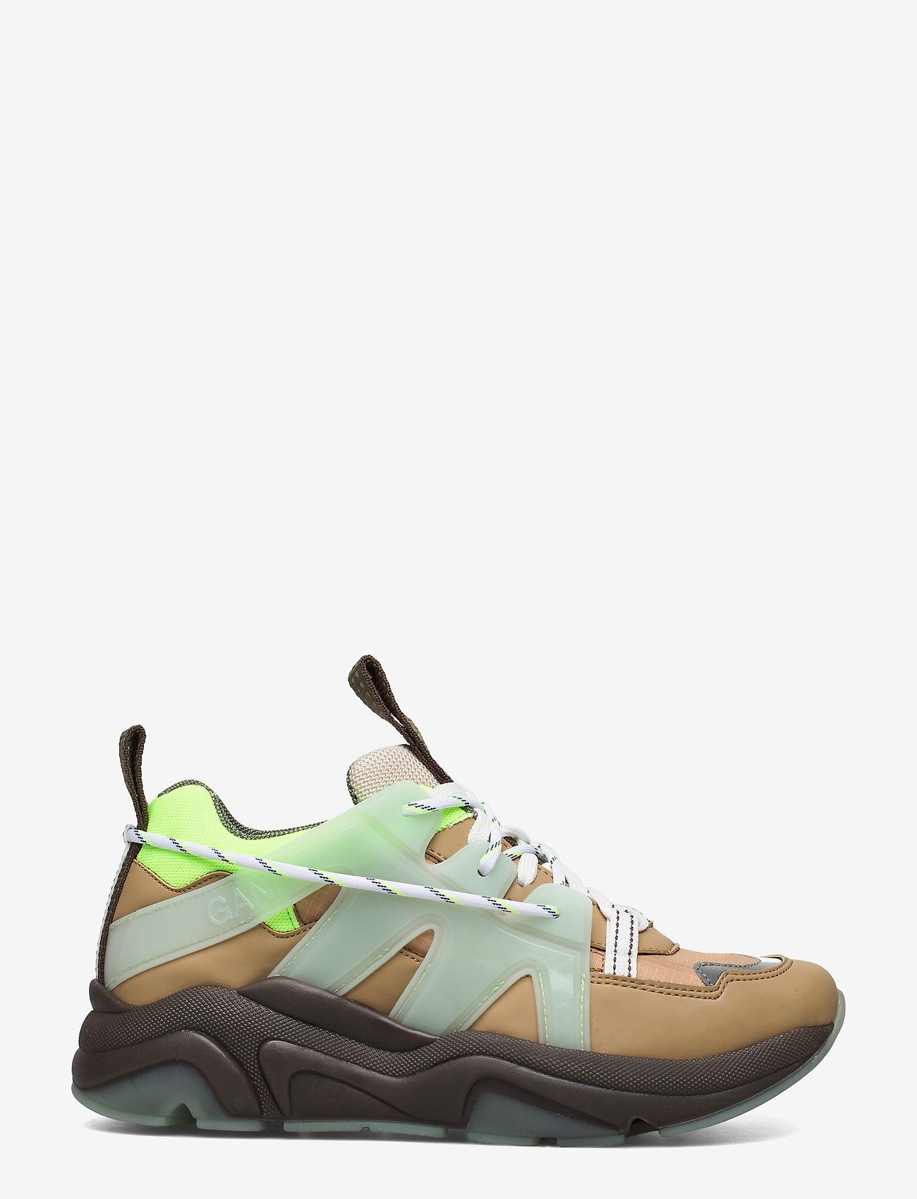 Ganni - Tech - chunky sneakers - ermine - 1