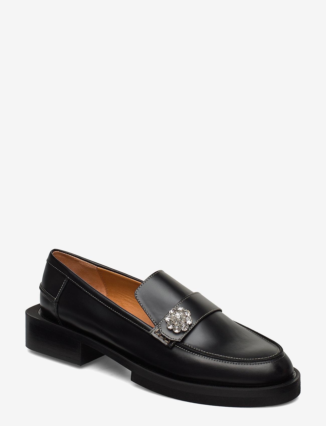 Ganni - Jewel - loafers - black - 0