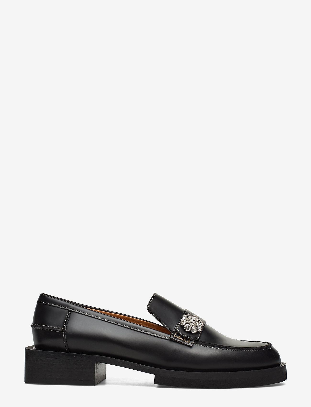 Ganni - Jewel - loafers - black - 1