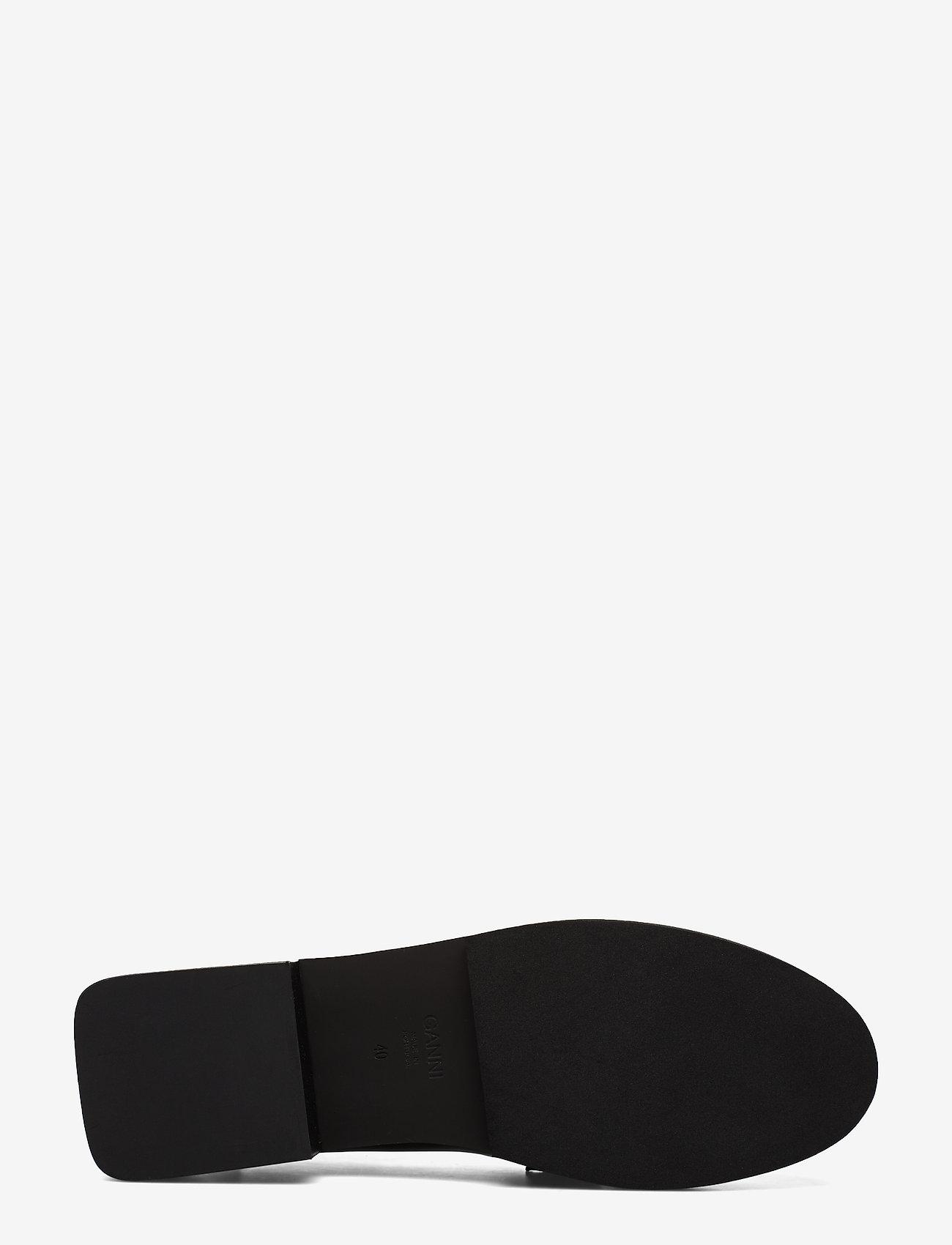 Ganni - Jewel - loafers - black - 4