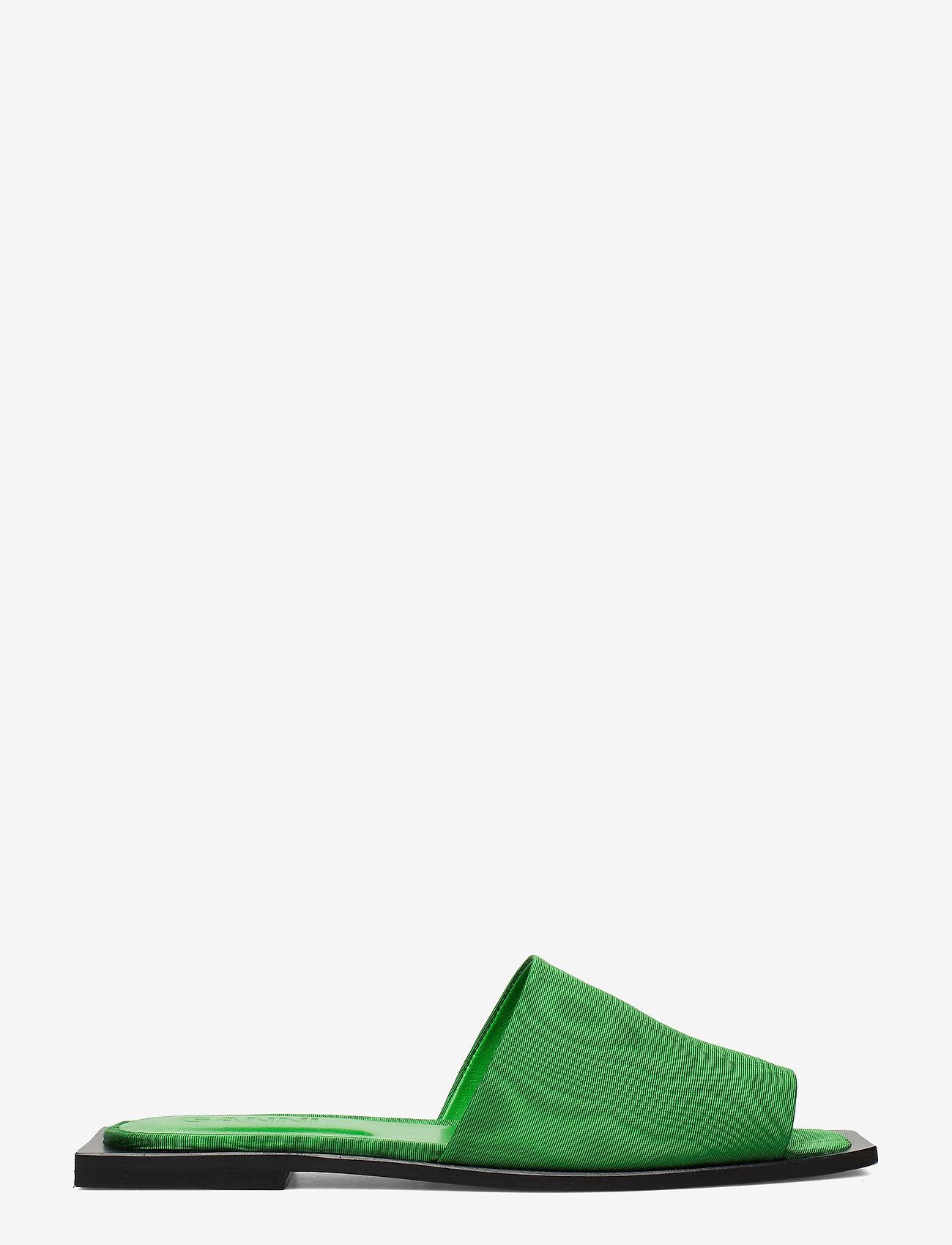 Ganni - Slipper Sandals - płaskie sandały - island green - 1