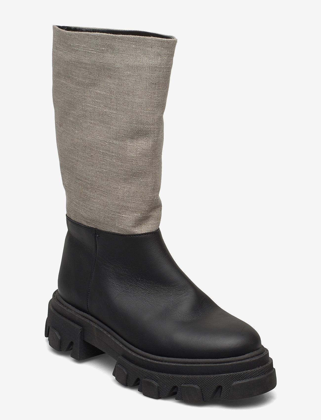 Ganni - Working Boot - kozaki klasyczne - nature - 1