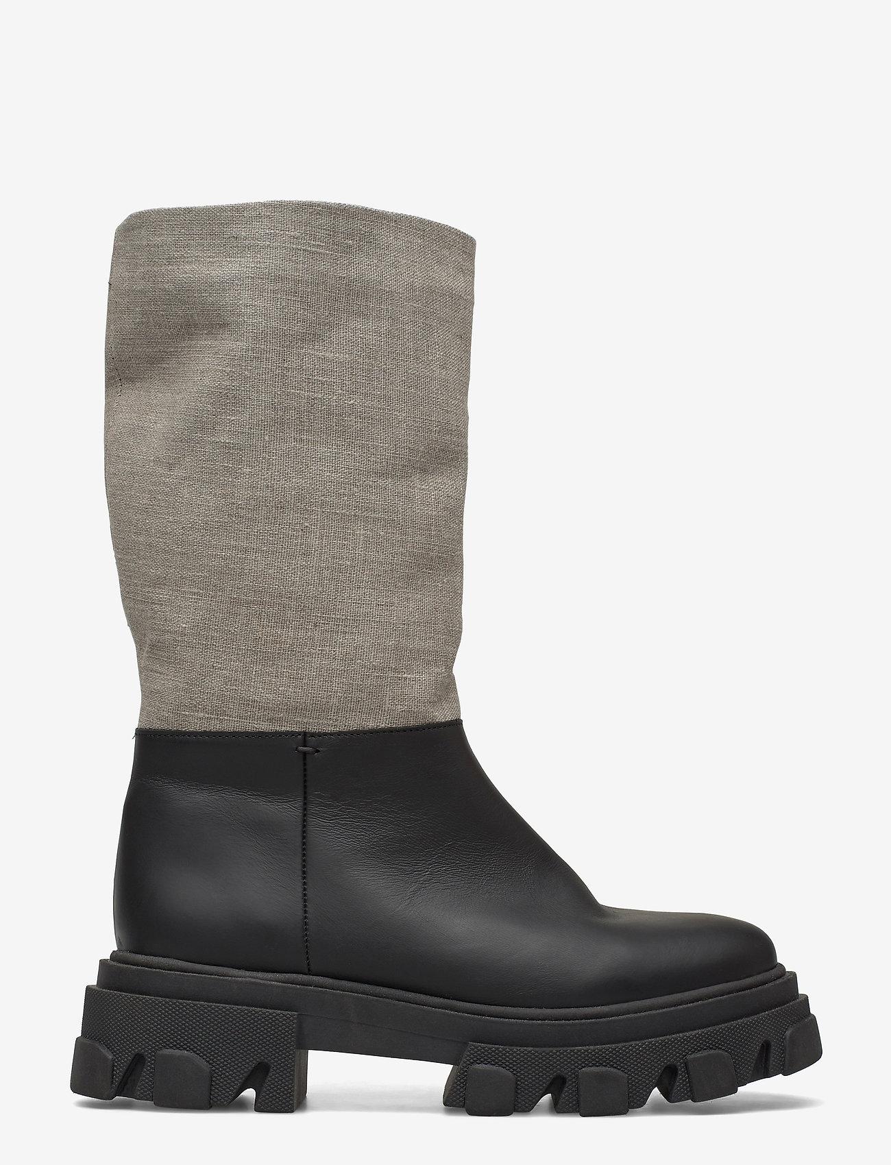 Ganni - Working Boot - lange laarzen - nature - 1