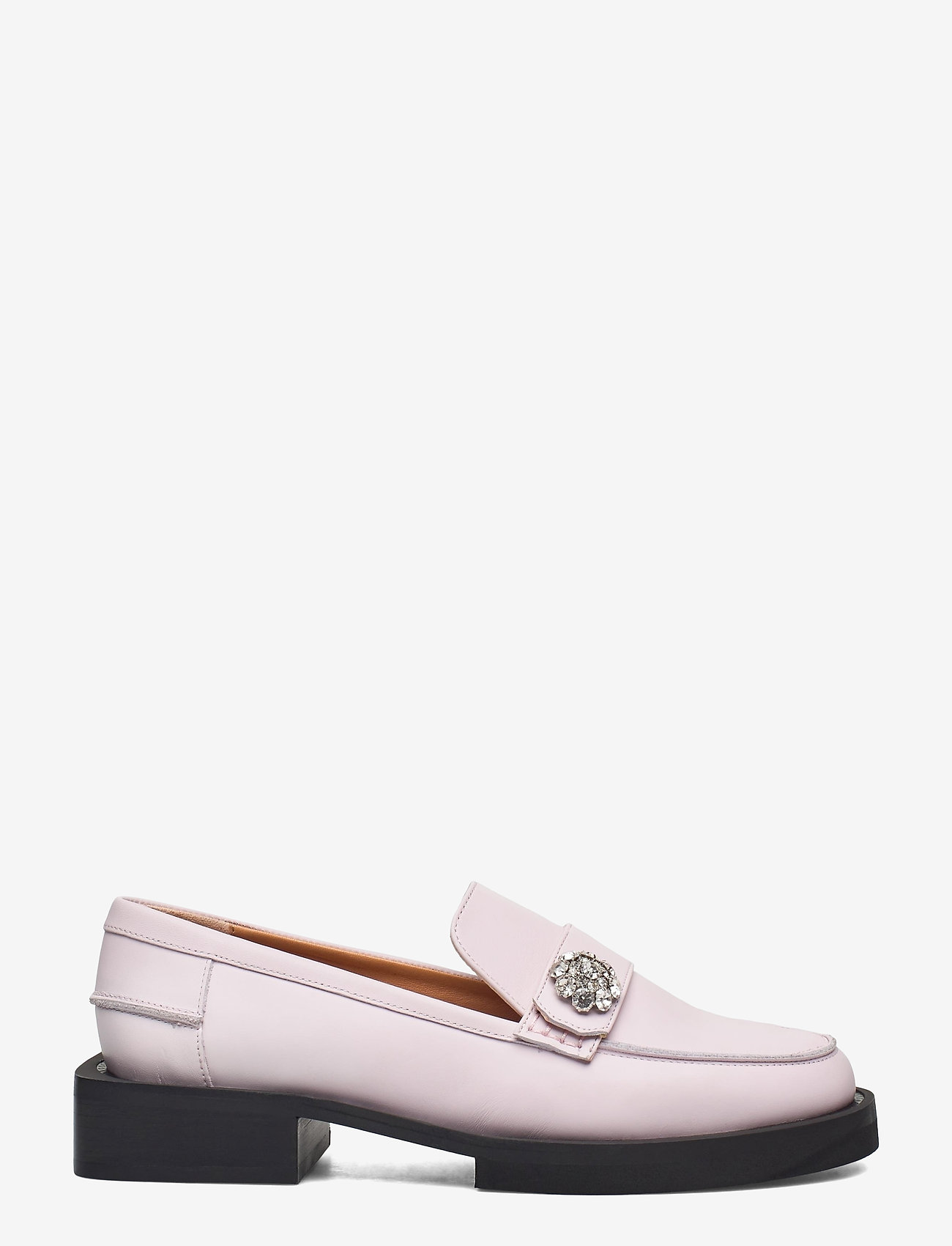 Ganni - Calf Leather - loafers - pale lilac - 1