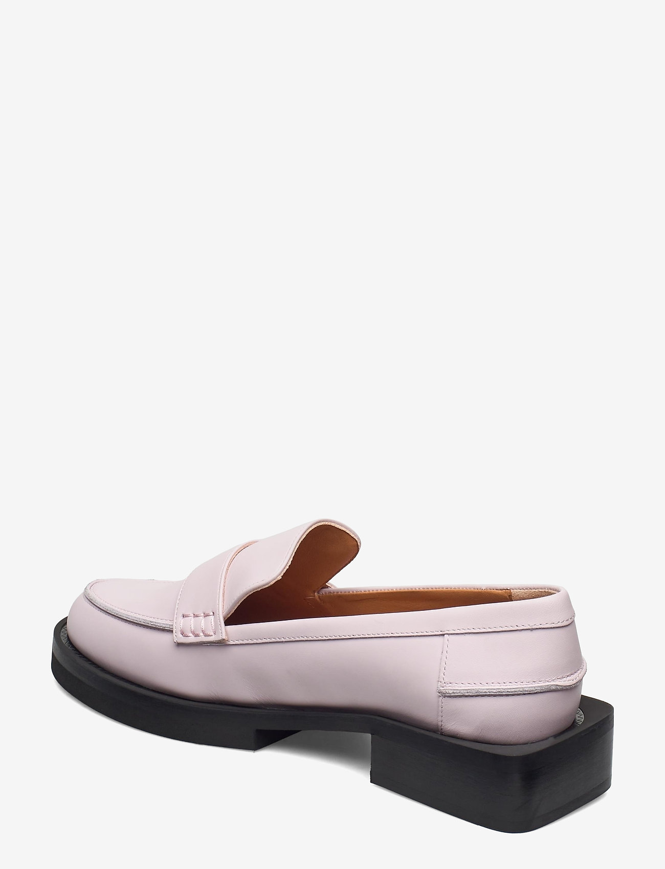 Ganni - Calf Leather - loafers - pale lilac - 2