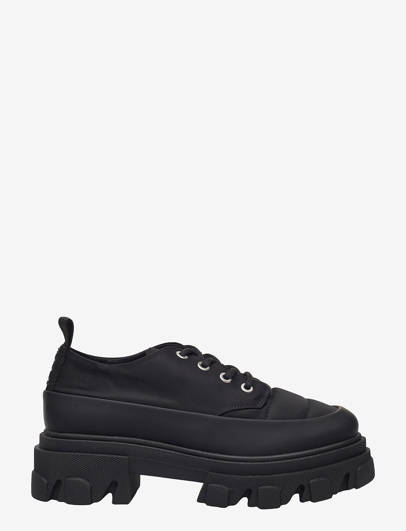 Ganni - Nylon - chunky sneakers - black - 0