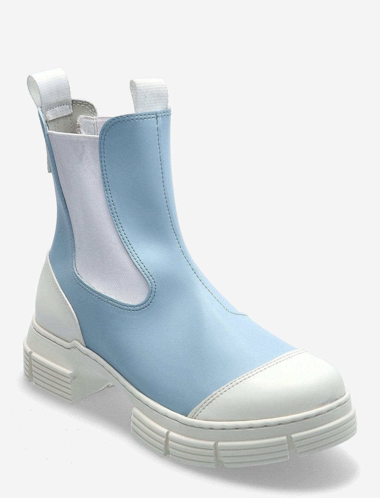 Ganni - Recycled Rubber - sko - corydalis blue - 0