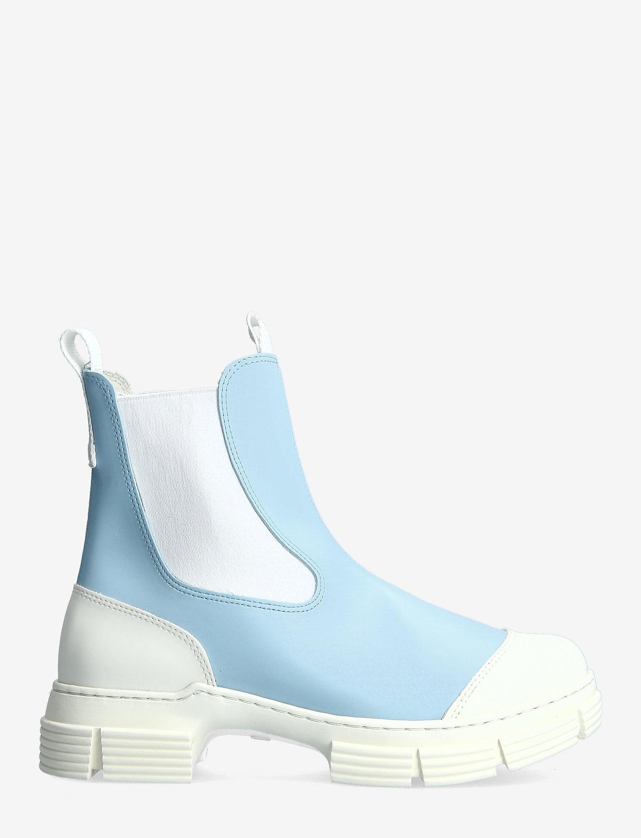 Ganni - Recycled Rubber - sko - corydalis blue - 1