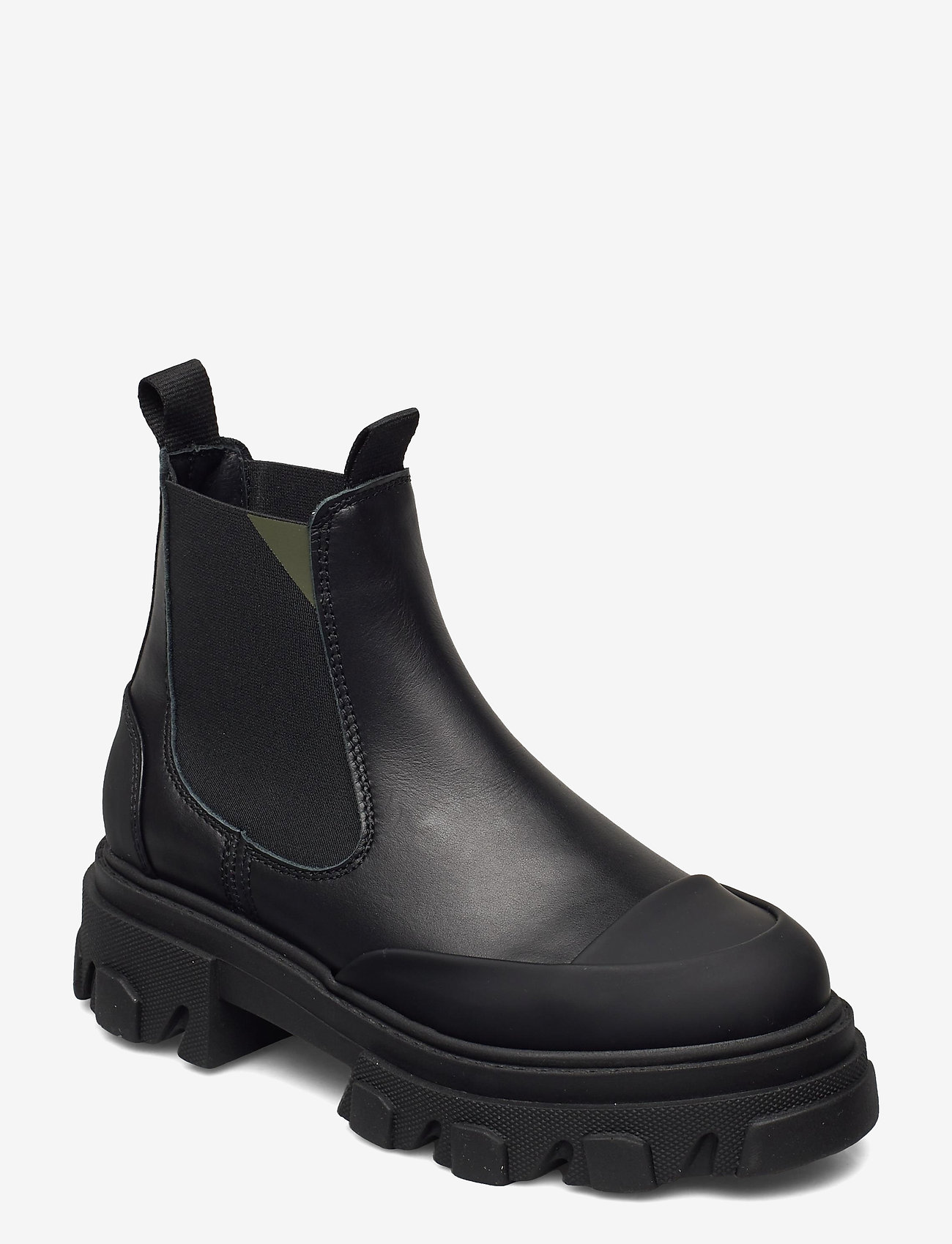 Ganni - Calf Leather - sko - black - 0