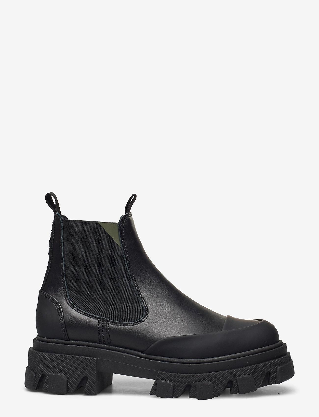 Ganni - Calf Leather - sko - black - 1