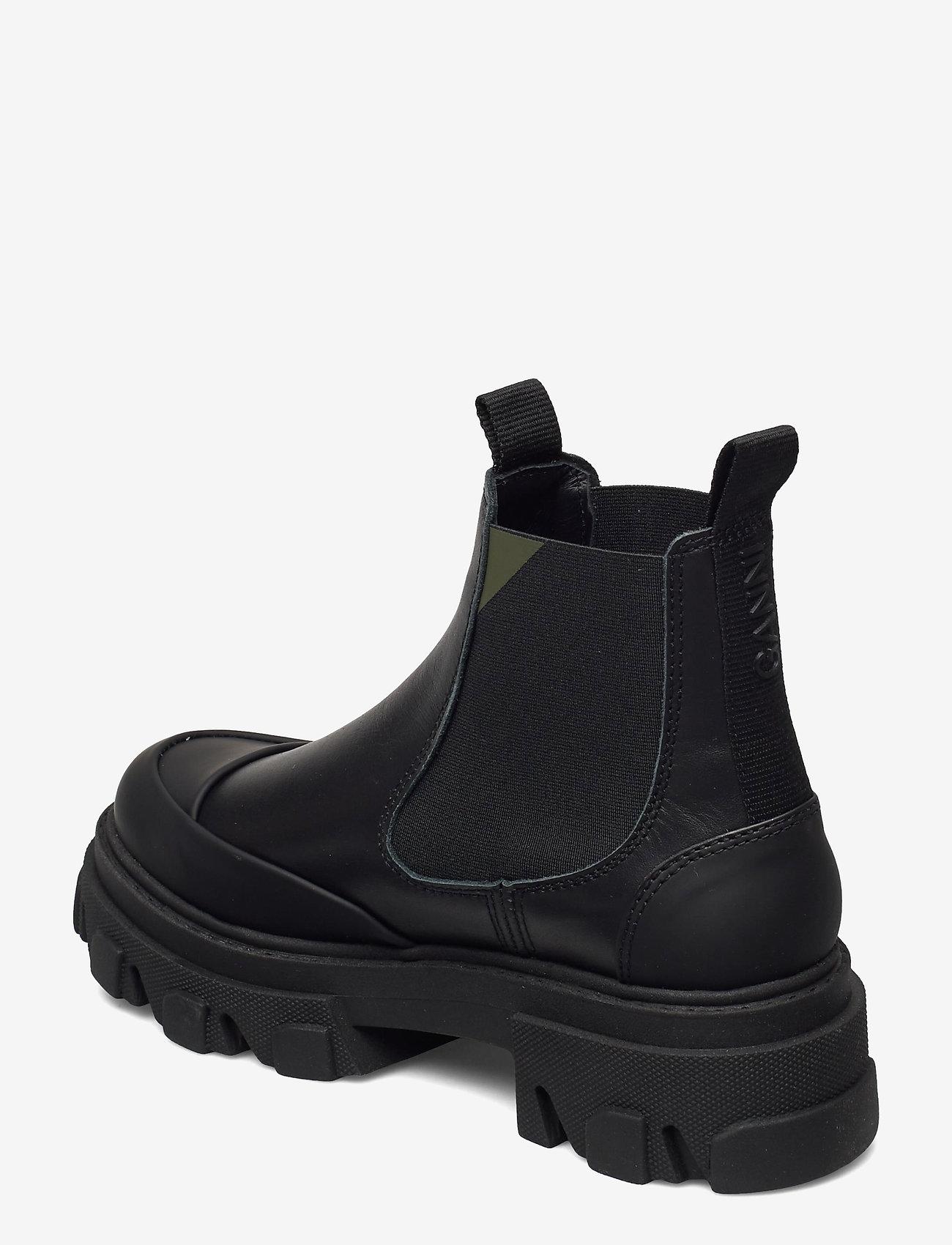 Ganni - Calf Leather - sko - black - 2