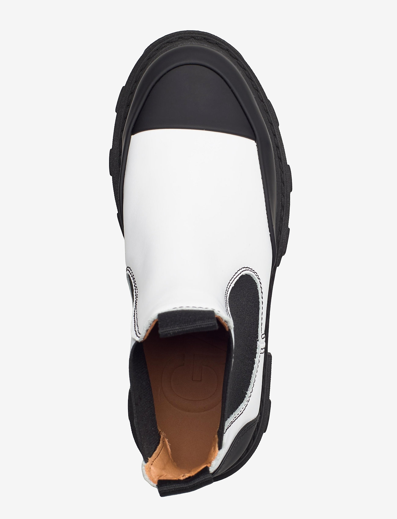 Ganni - Calf Leather - sko - egret - 3