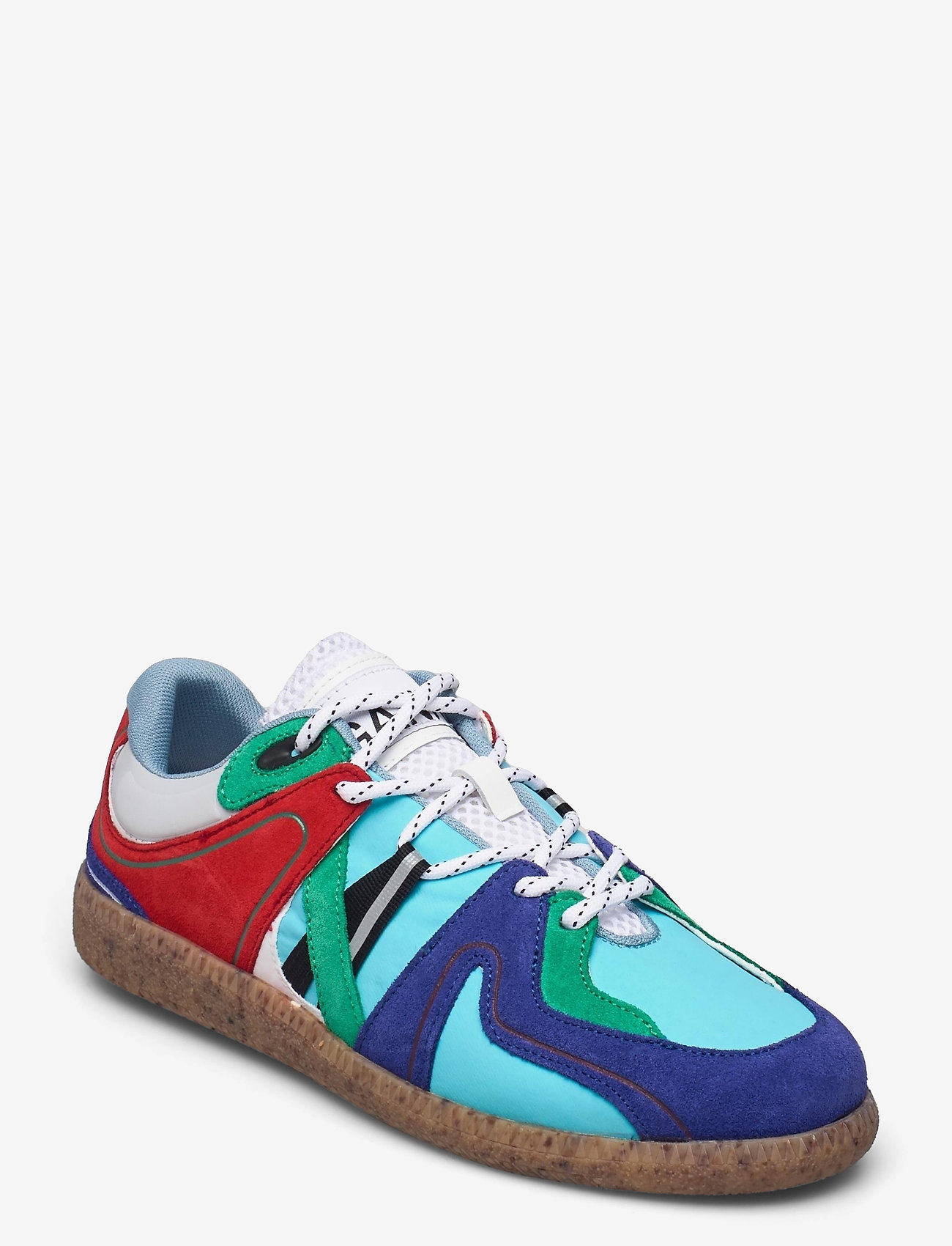Ganni - Sporty Mix - low top sneakers - sky captain - 1