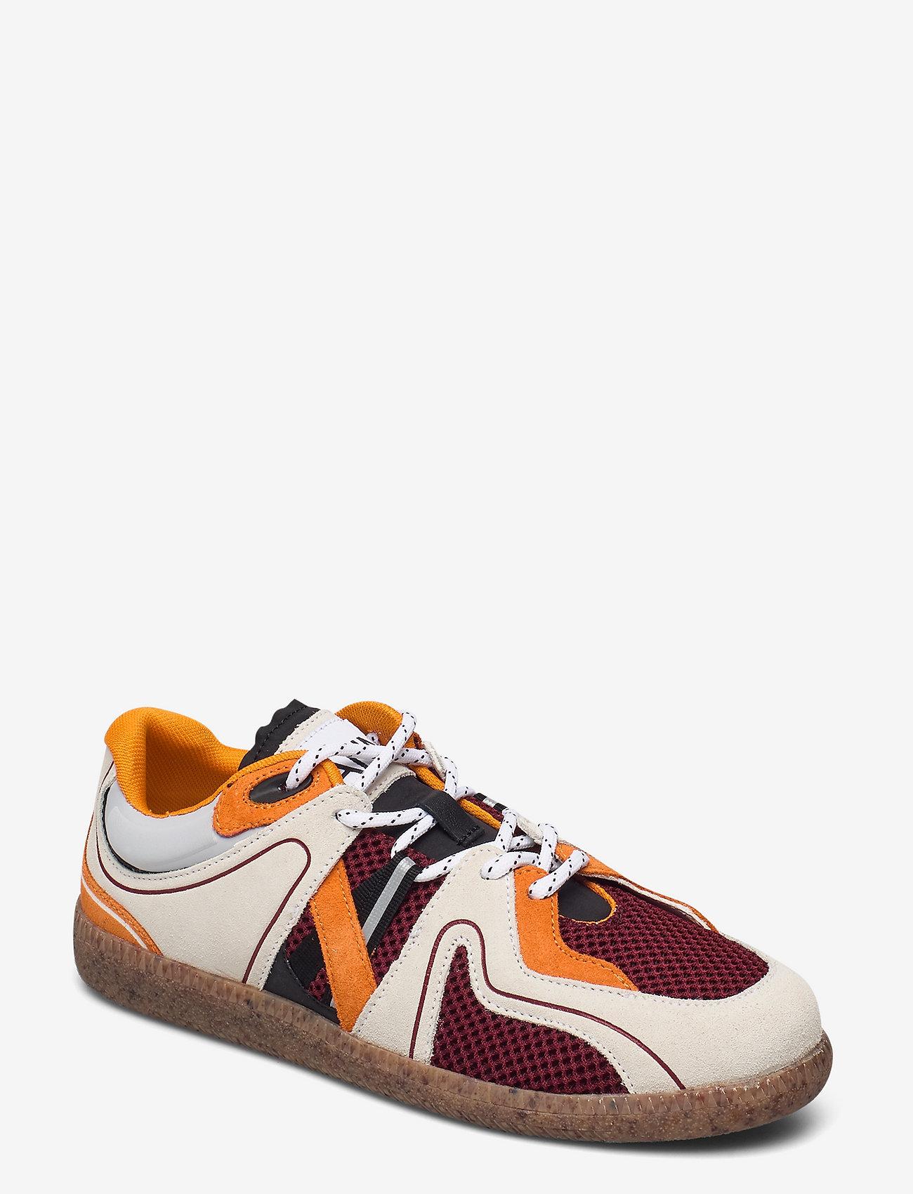 Ganni - Sporty Mix - lave sneakers - egret - 0