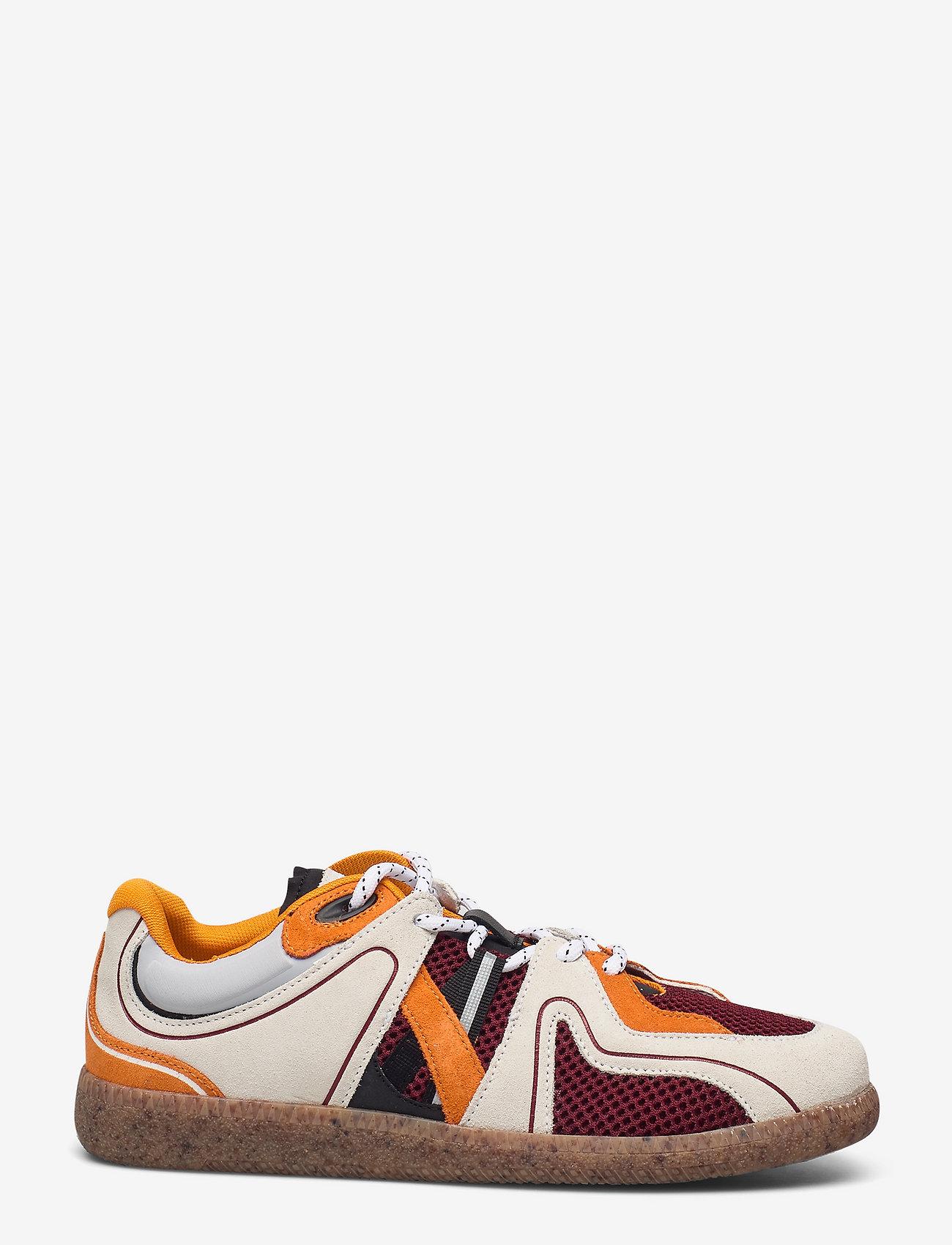 Ganni - Sporty Mix - lave sneakers - egret - 1