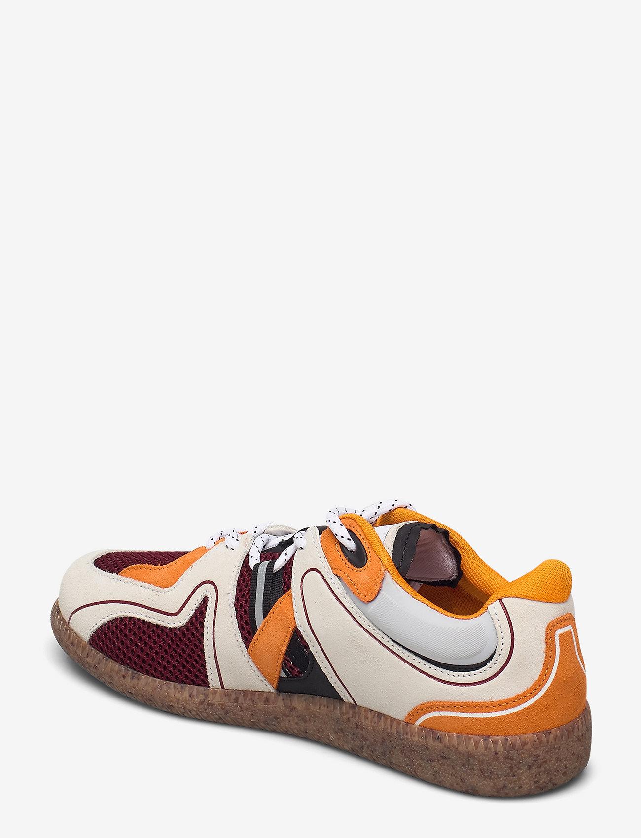 Ganni - Sporty Mix - lave sneakers - egret - 2