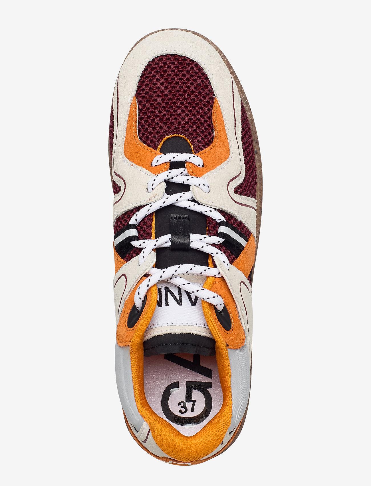 Ganni - Sporty Mix - lave sneakers - egret - 3