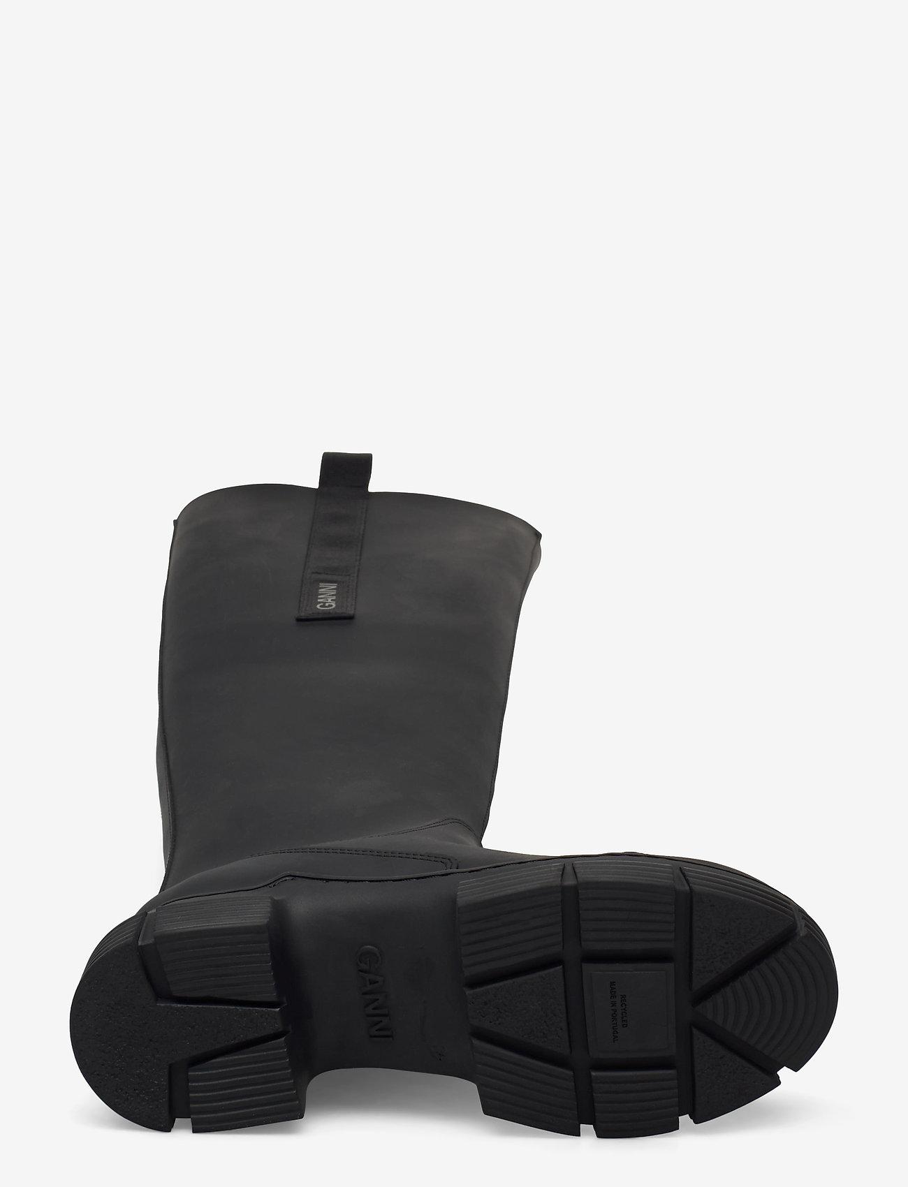 Ganni - Recycled Rubber - nyheder - black - 4