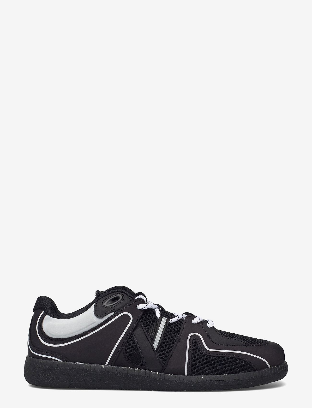 Ganni - Sporty Mix - lave sneakers - black - 1