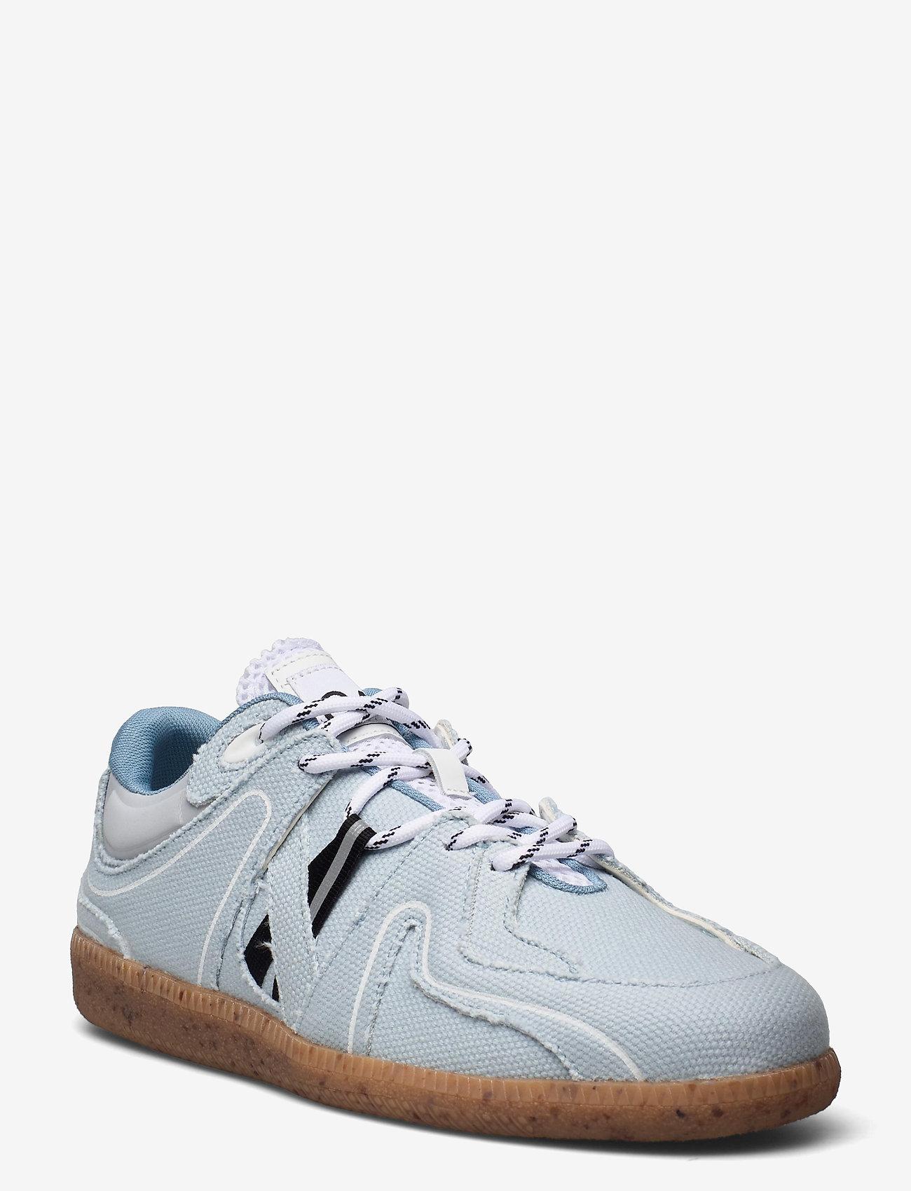 Ganni - Sporty Mix - sneakersy niskie - denim - 0