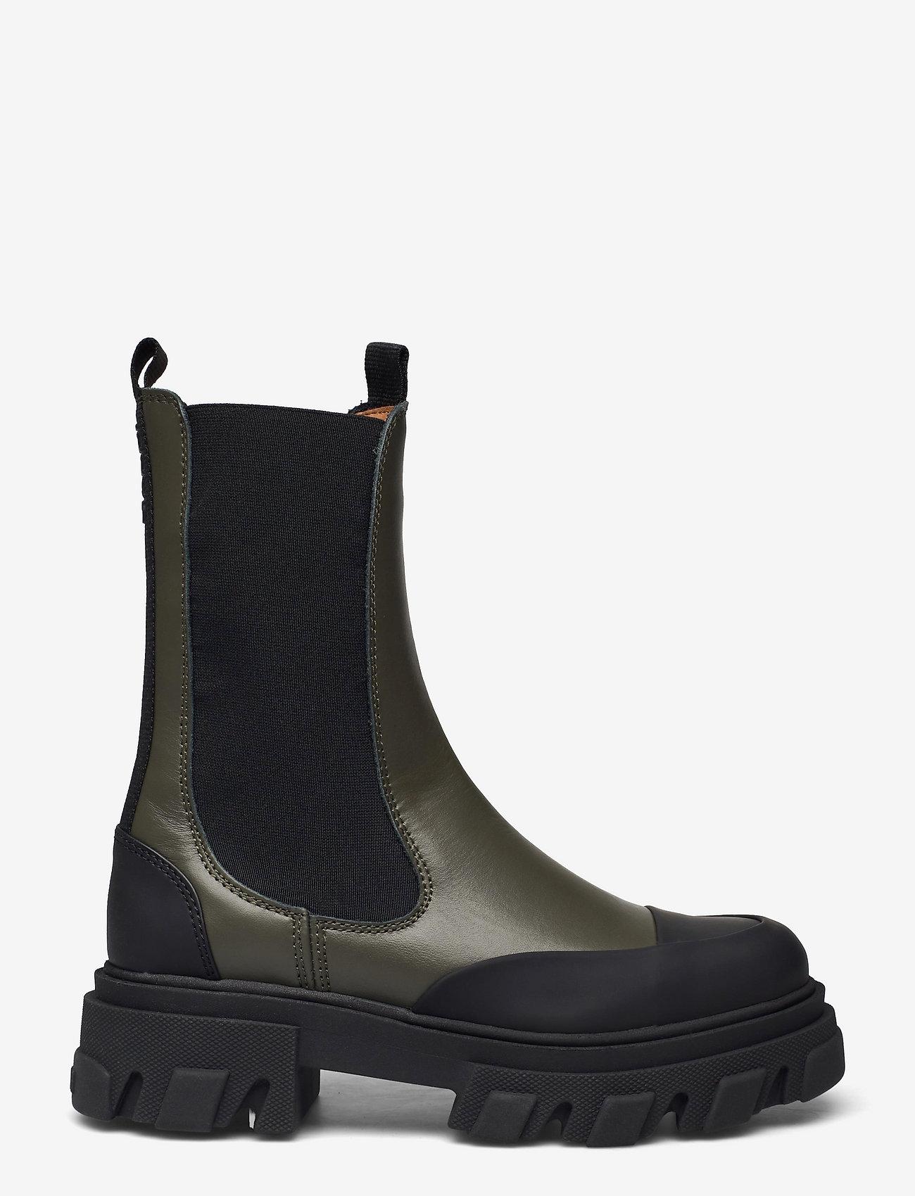 Ganni - Mid Chelsea Boot - chelsea støvler - kalamata - 1