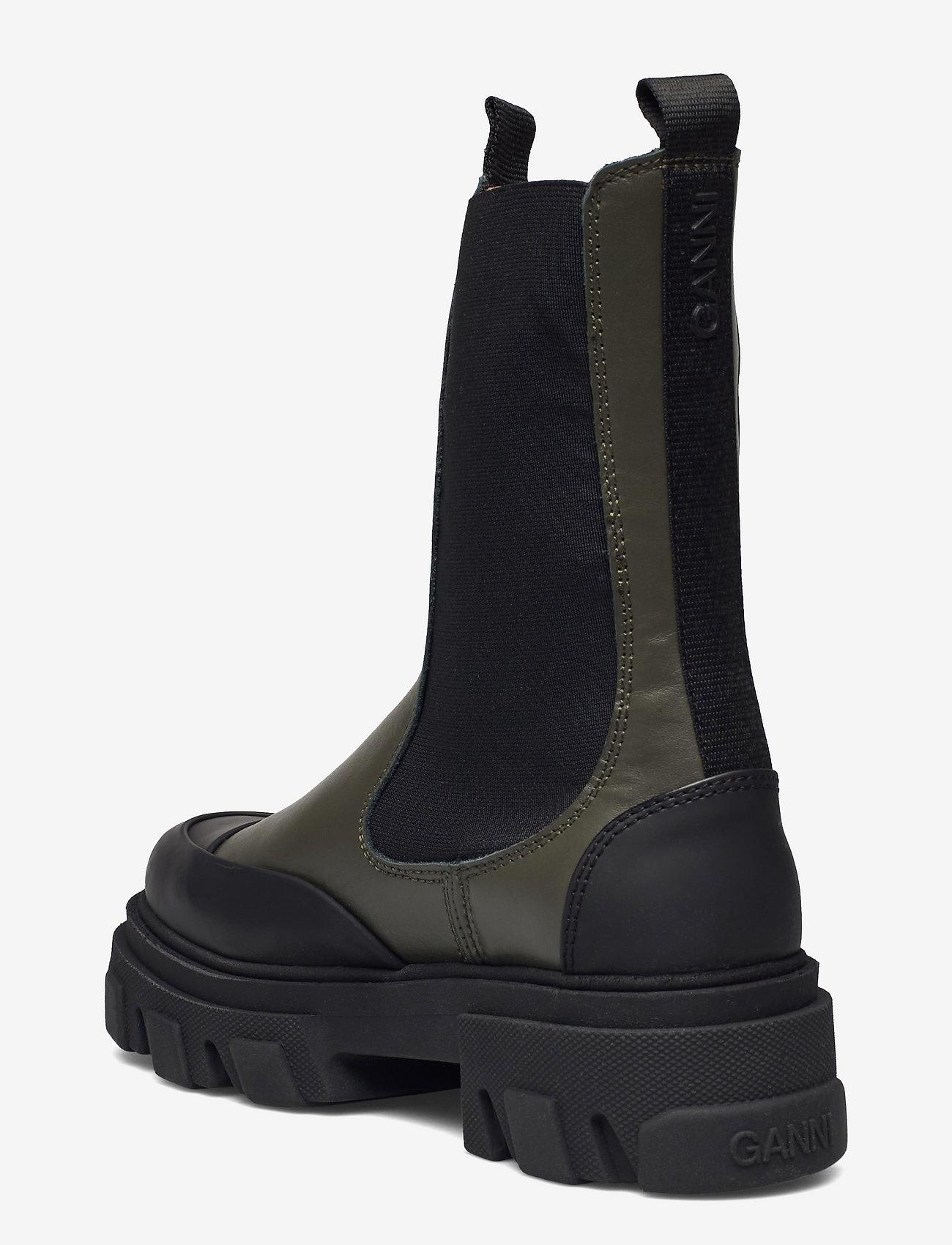 Ganni - Mid Chelsea Boot - chelsea støvler - kalamata - 2