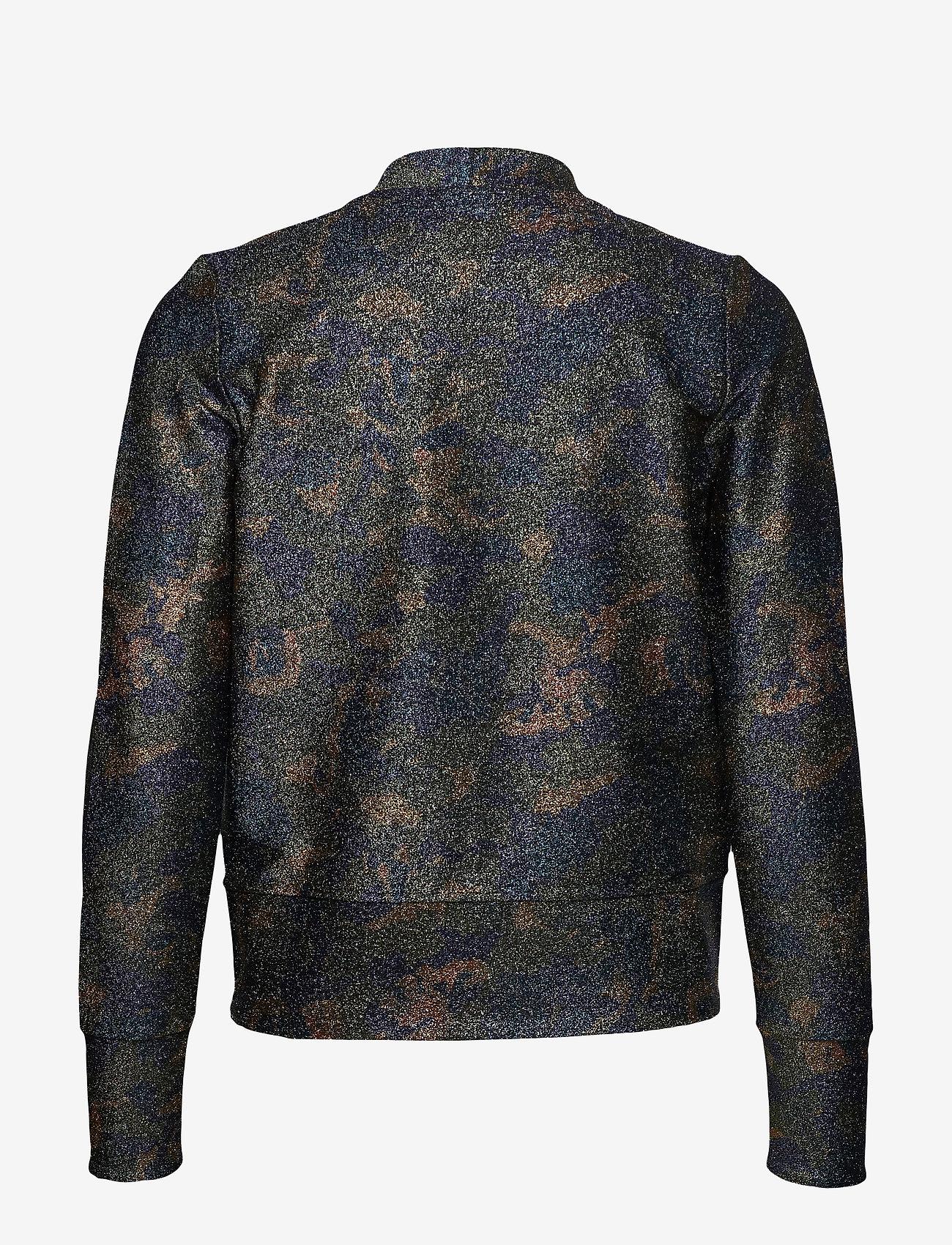Lurex Jersey Cardigan (Kalamata) - Ganni R3B65p