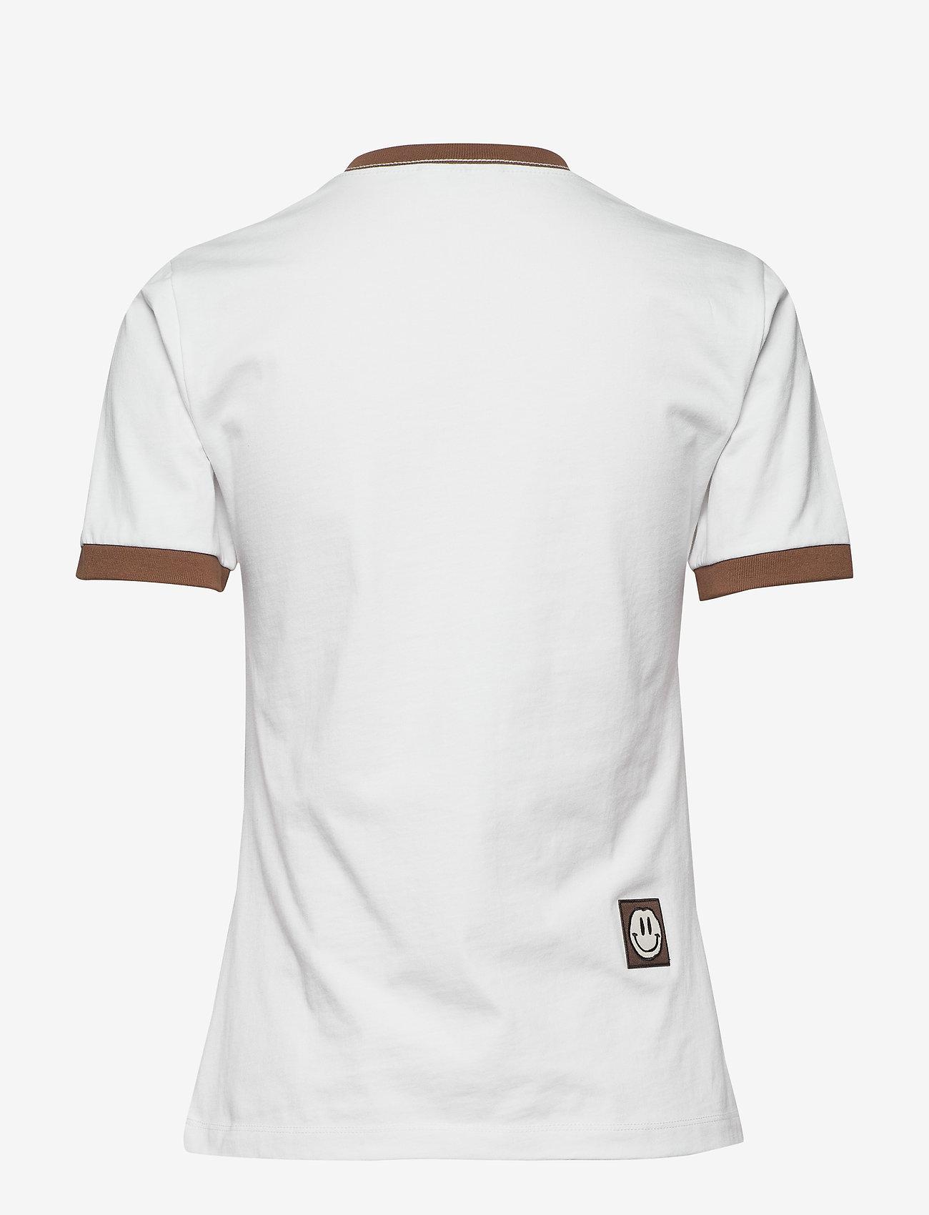 Ganni - Basic Cotton Jersey - t-shirts - bright white - 1