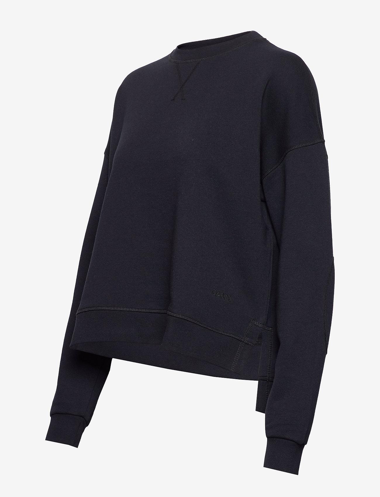 Ganni - Isoli - sweatshirts & hættetrøjer - sky captain - 2