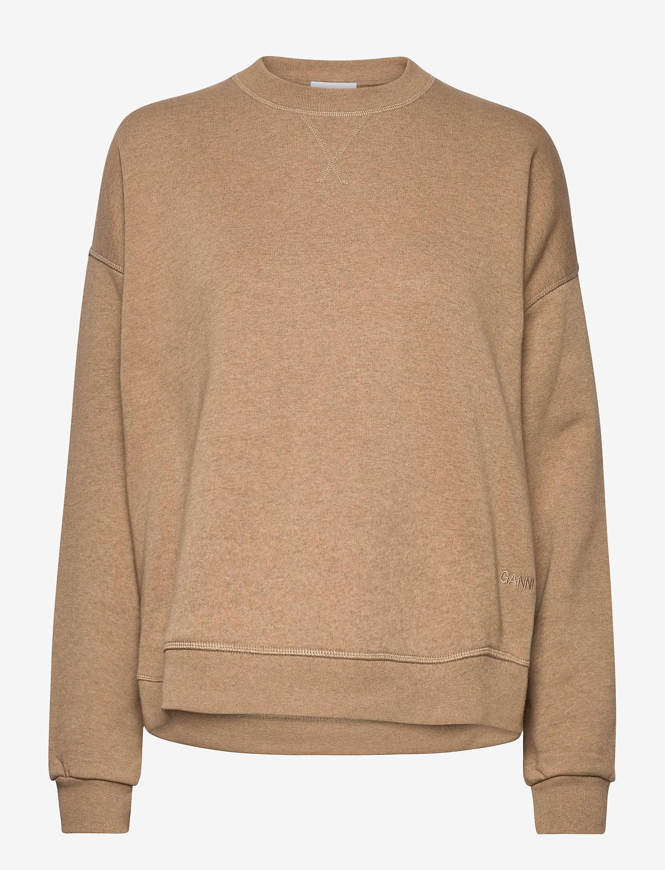 Ganni - Isoli - sweatshirts & hoodies - tannin - 0