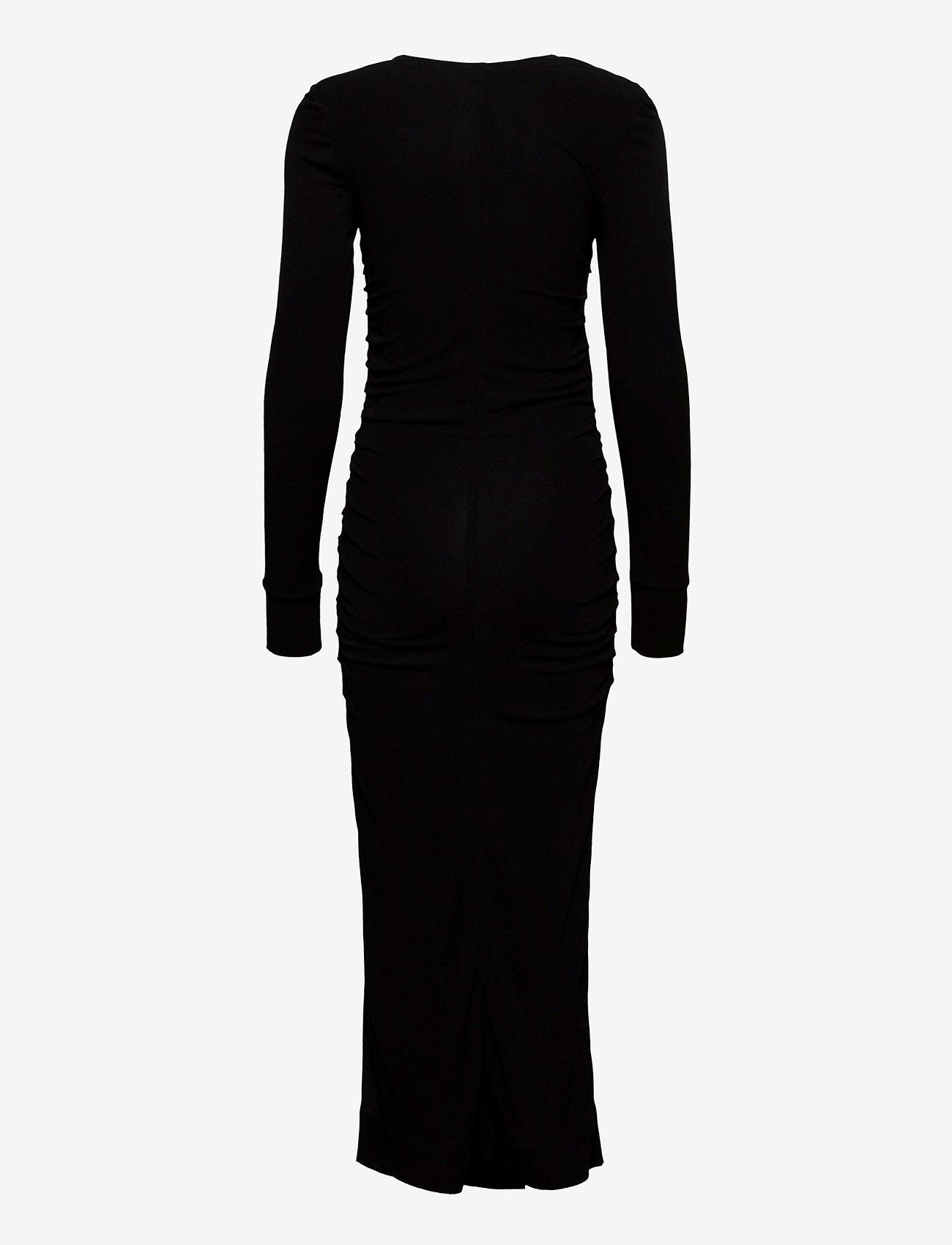 Ganni - Viscose Jersey - maxikjoler - black - 1