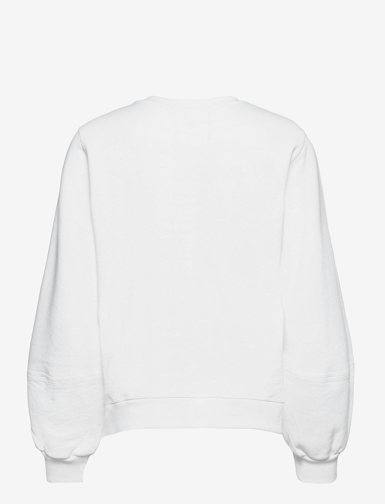 Ganni - Isoli - sweatshirts & hoodies - bright white - 1