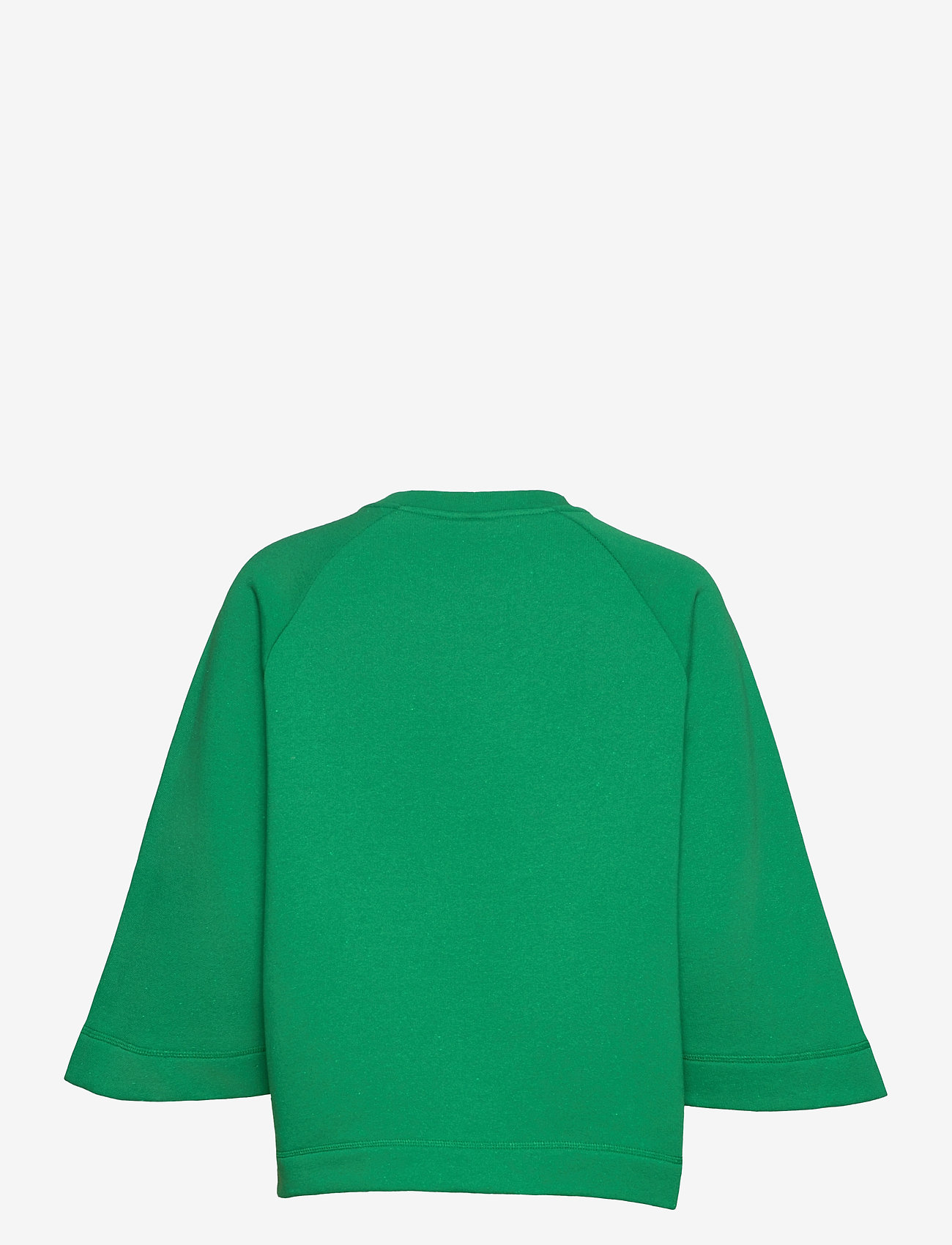 Ganni - Isoli - sweatshirts & hættetrøjer - kelly green - 1