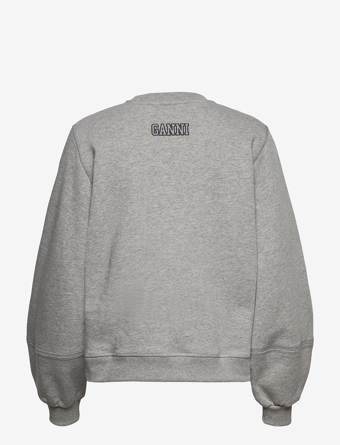 Ganni - Software Isoli - sweatshirts & hoodies - paloma melange - 1