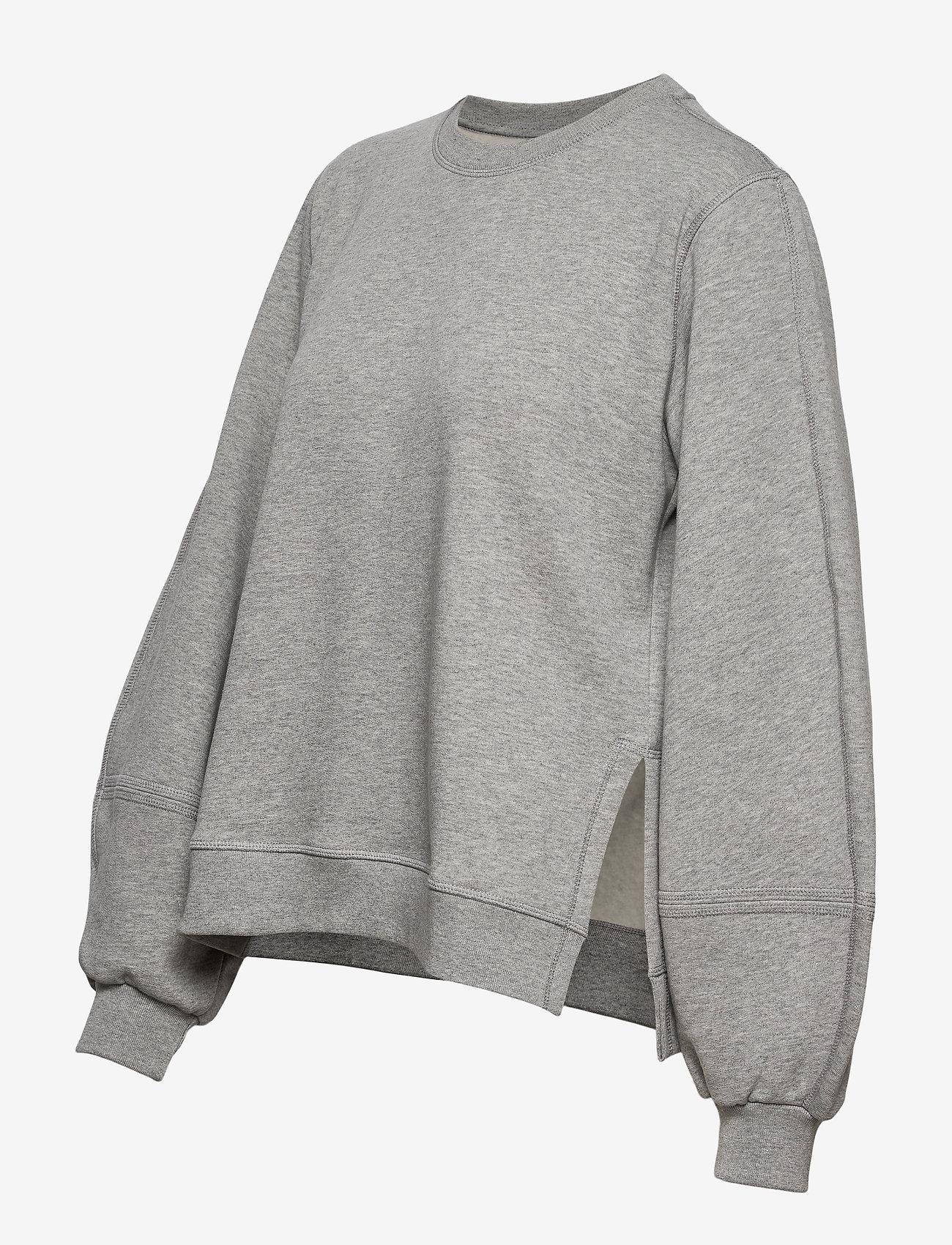Ganni - Software Isoli - sweatshirts & hoodies - paloma melange - 2
