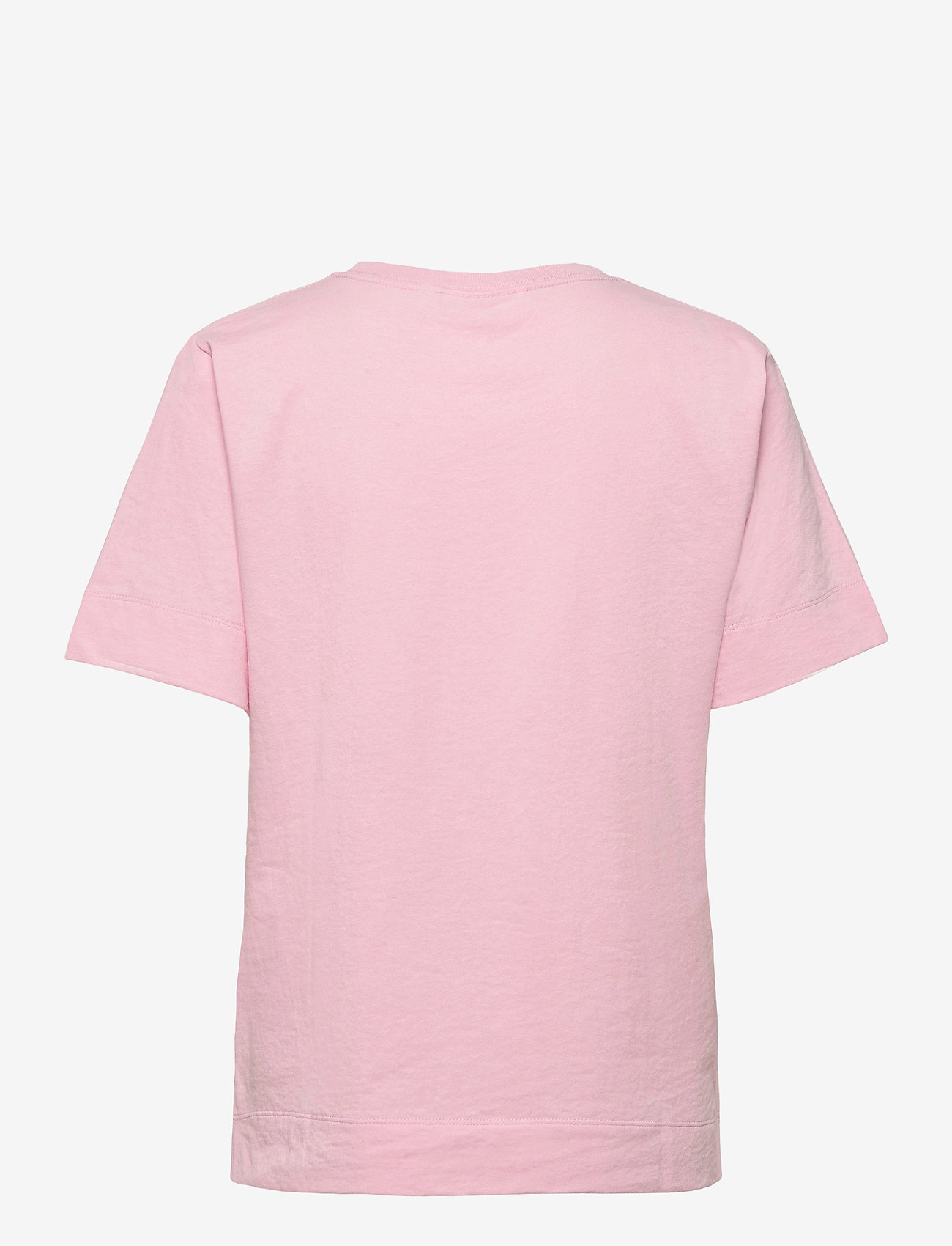 Ganni - Thin Software Jersey - t-shirts - sweet lilac - 1