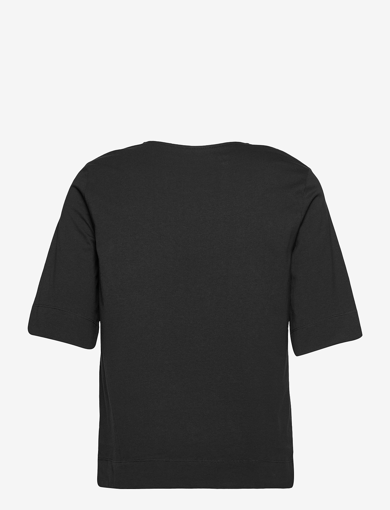 Ganni - Basic Cotton Jersey - t-shirt & tops - phantom - 1