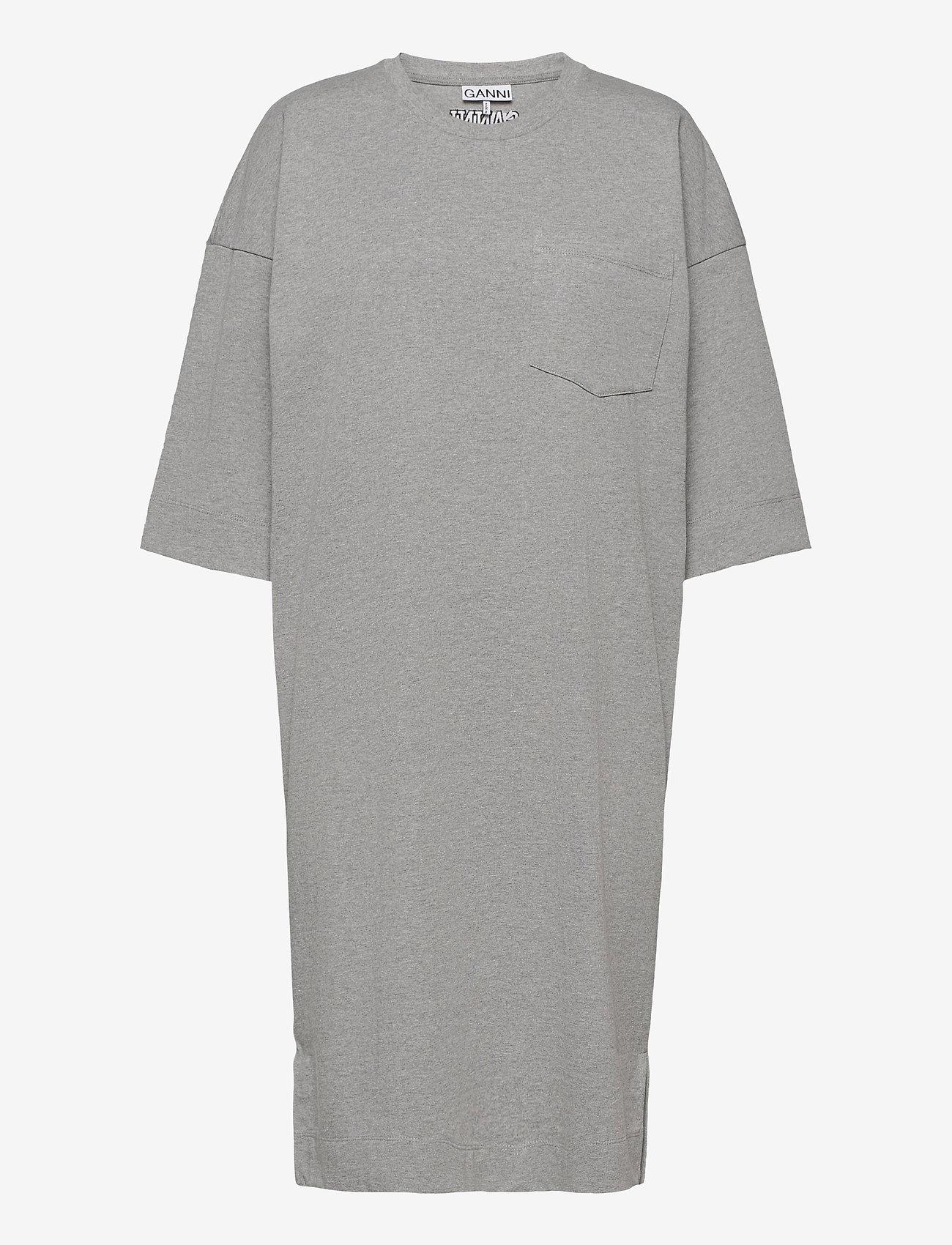 Ganni - Software Jersey - t-shirtkjoler - paloma melange - 0