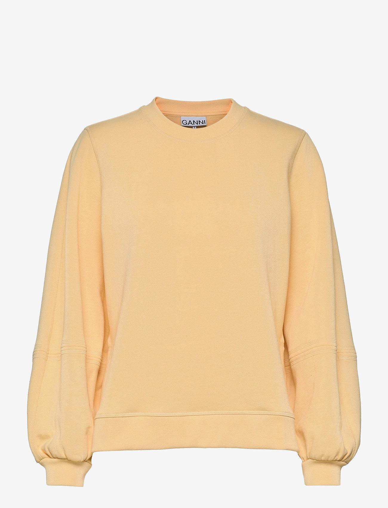 Ganni - Software Isoli - sweatshirts & hættetrøjer - anise flower - 0