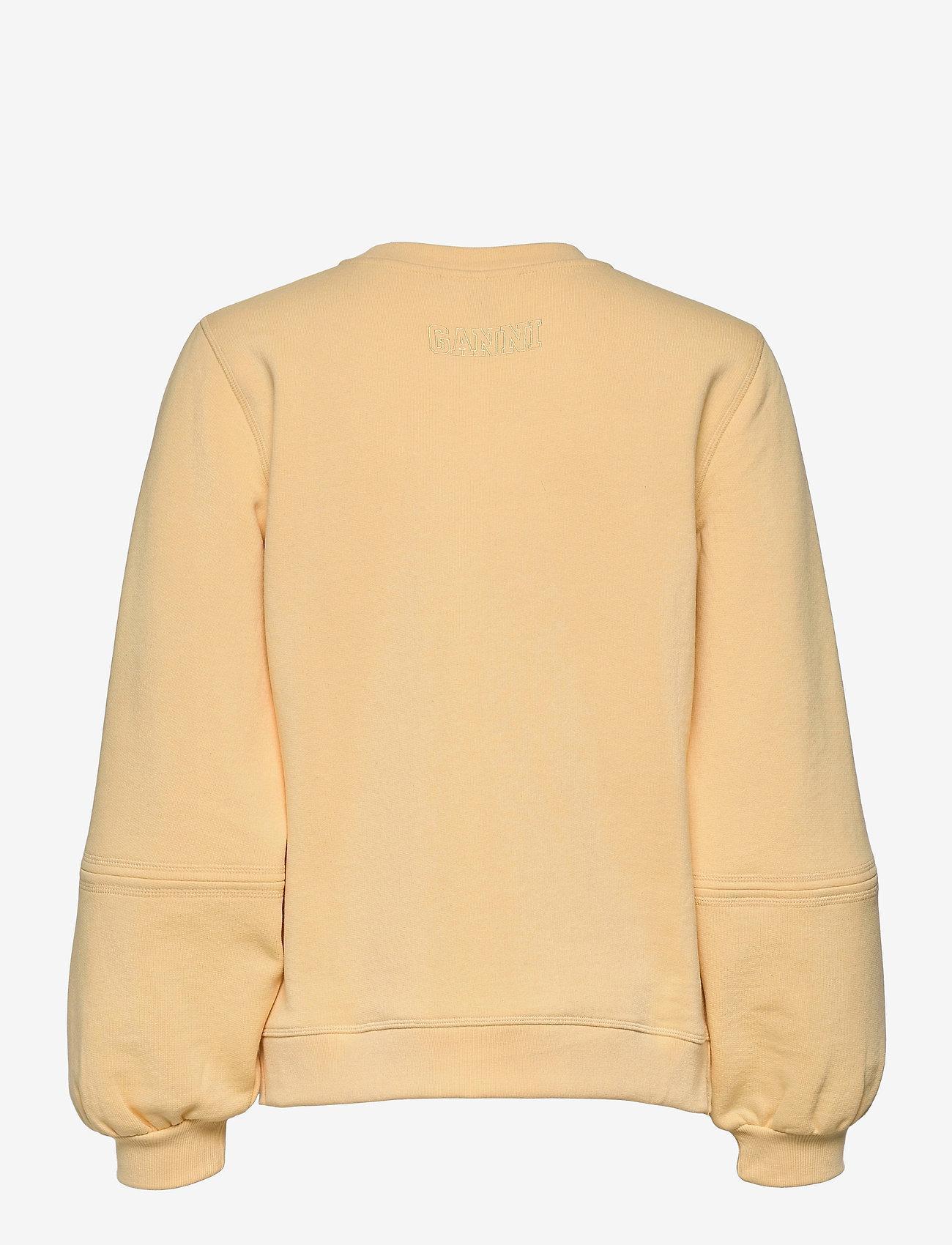 Ganni - Software Isoli - sweatshirts & hættetrøjer - anise flower - 1