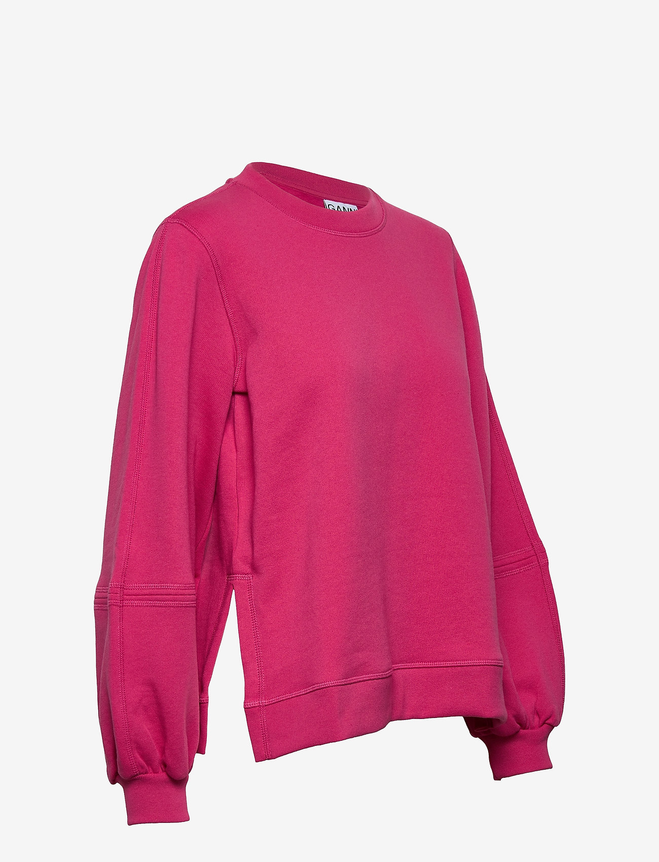 Ganni - Software Isoli - sweatshirts & hættetrøjer - shocking pink - 3