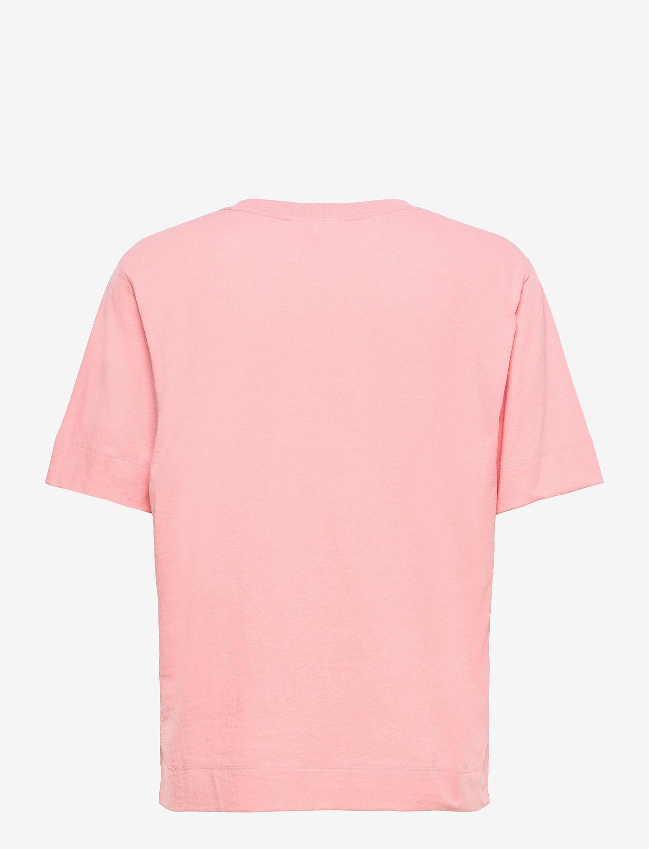 Ganni - Thin Software Jersey - t-shirts - sweet lilac - 1