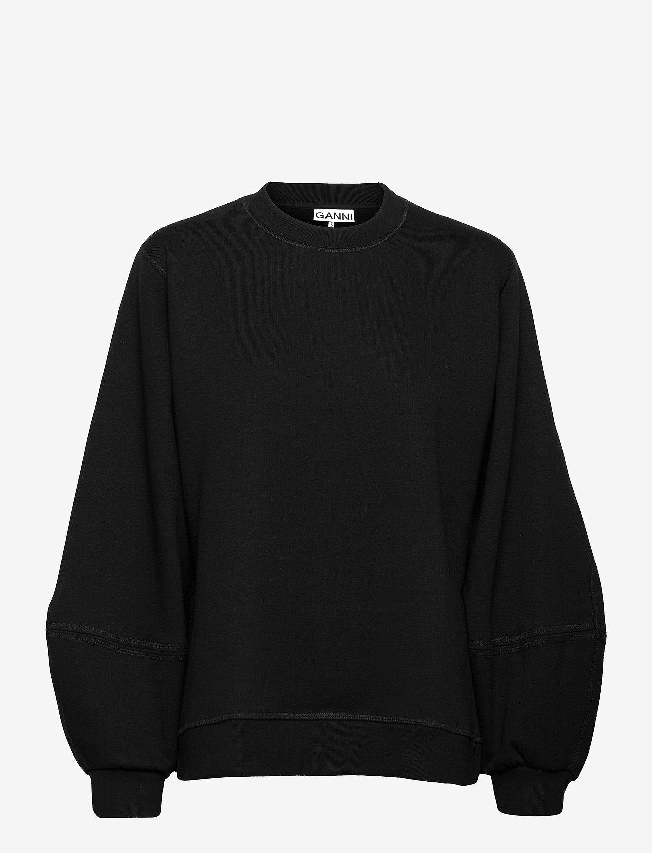 Ganni - Software Isoli - sweatshirts & hoodies - black - 0
