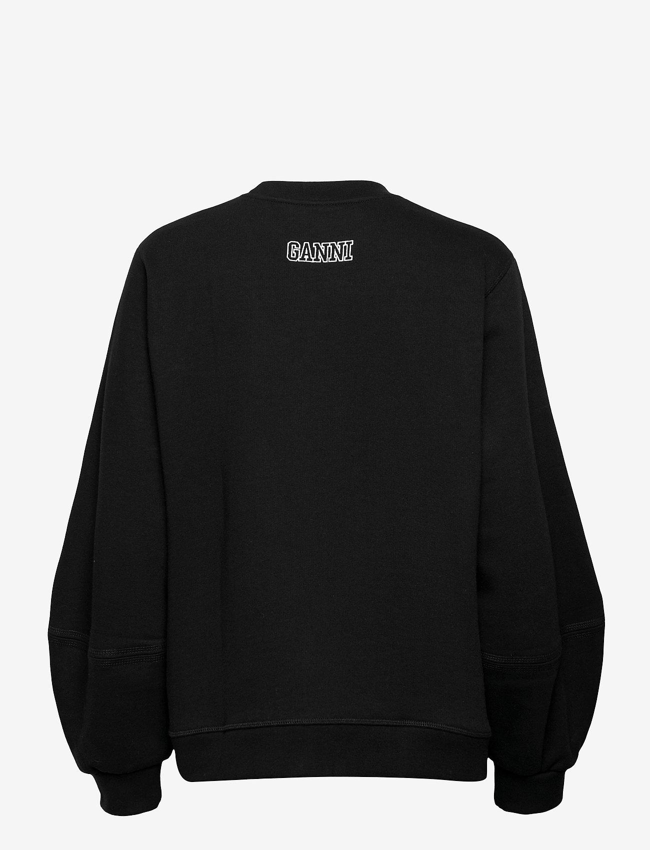 Ganni - Software Isoli - sweatshirts & hoodies - black - 1