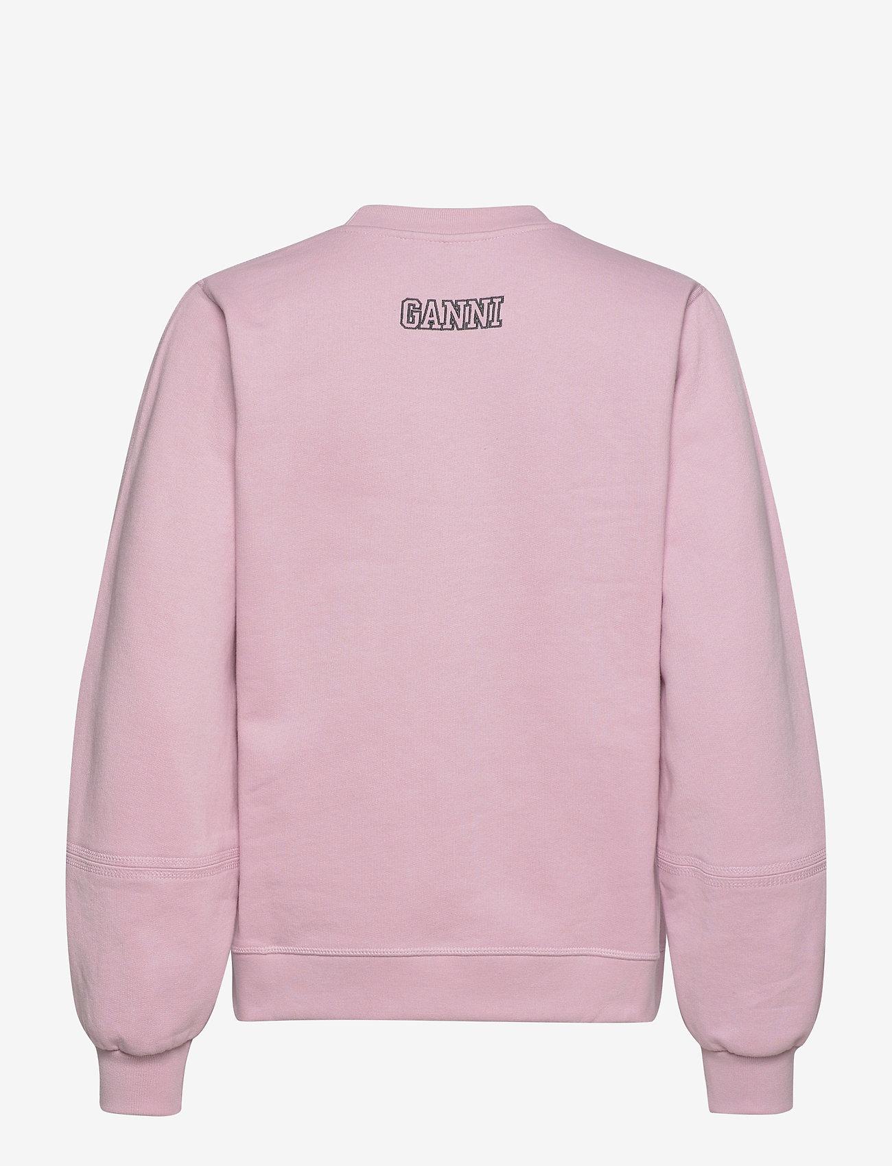 Ganni - Software Isoli - sweatshirts en hoodies - sweet lilac - 1