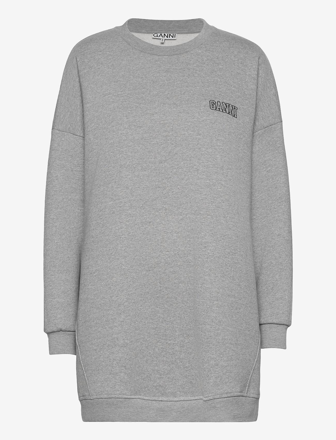 Ganni - Software Isoli - sweatshirts & hættetrøjer - paloma melange - 0