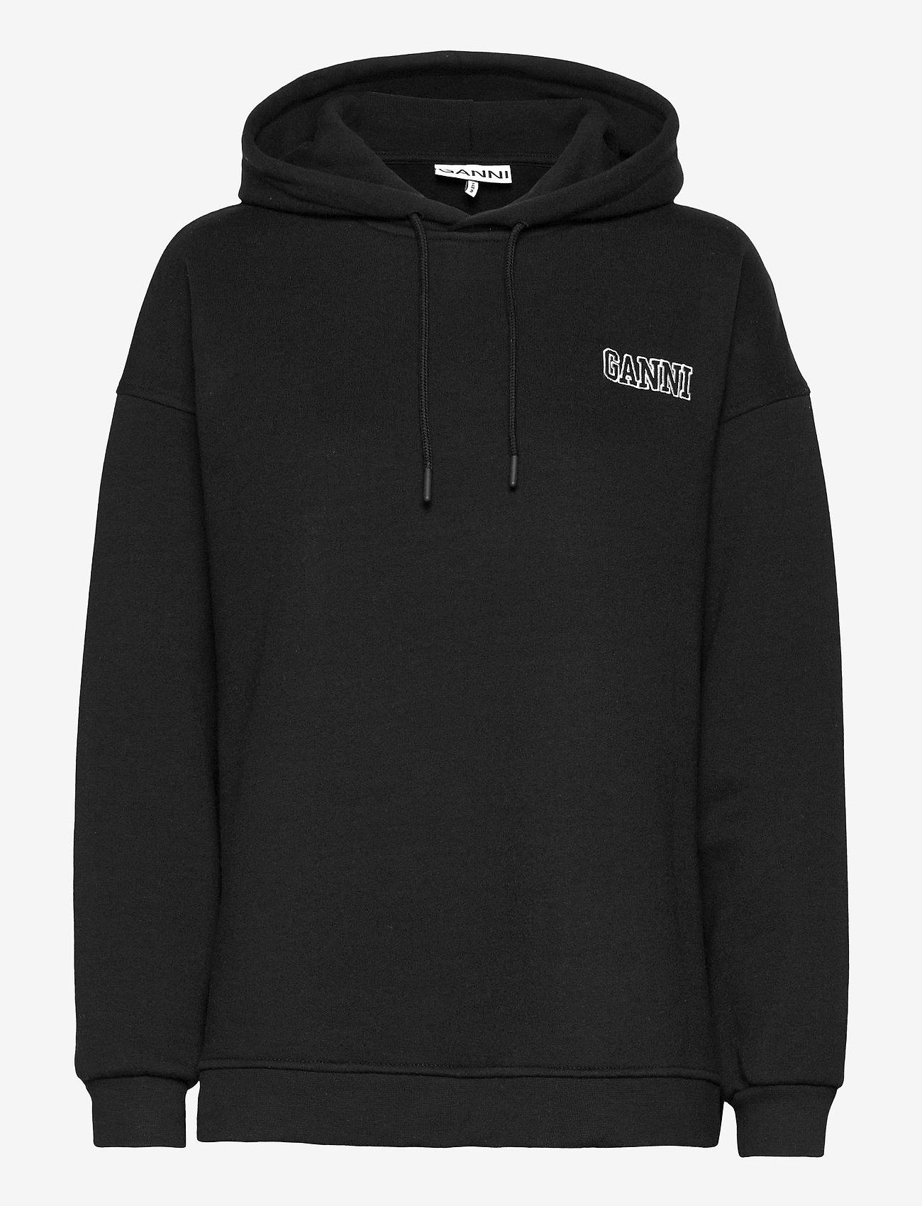 Ganni - Software Isoli - sweatshirts & hættetrøjer - black - 0